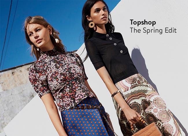 Topshop, the spring edit.