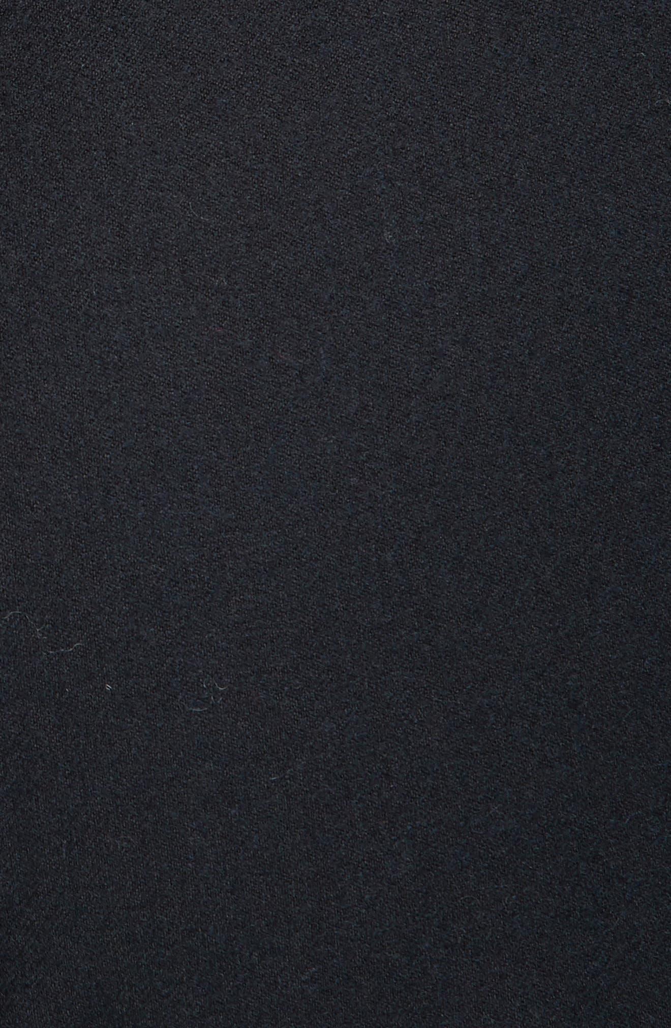 Wool Blend Flannel Button Cuff Pants,                             Alternate thumbnail 5, color,                             410