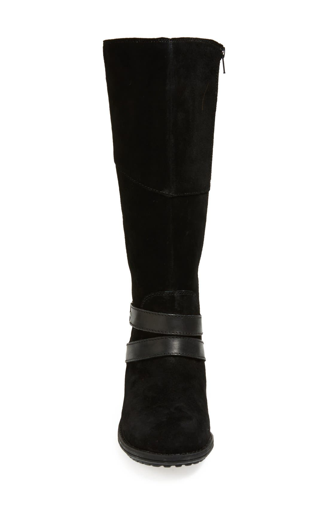 THE NORTH FACE,                             'Bridgeton' Waterproof Heatseeker<sup>™</sup> Insulated Riding Boot,                             Alternate thumbnail 4, color,                             001