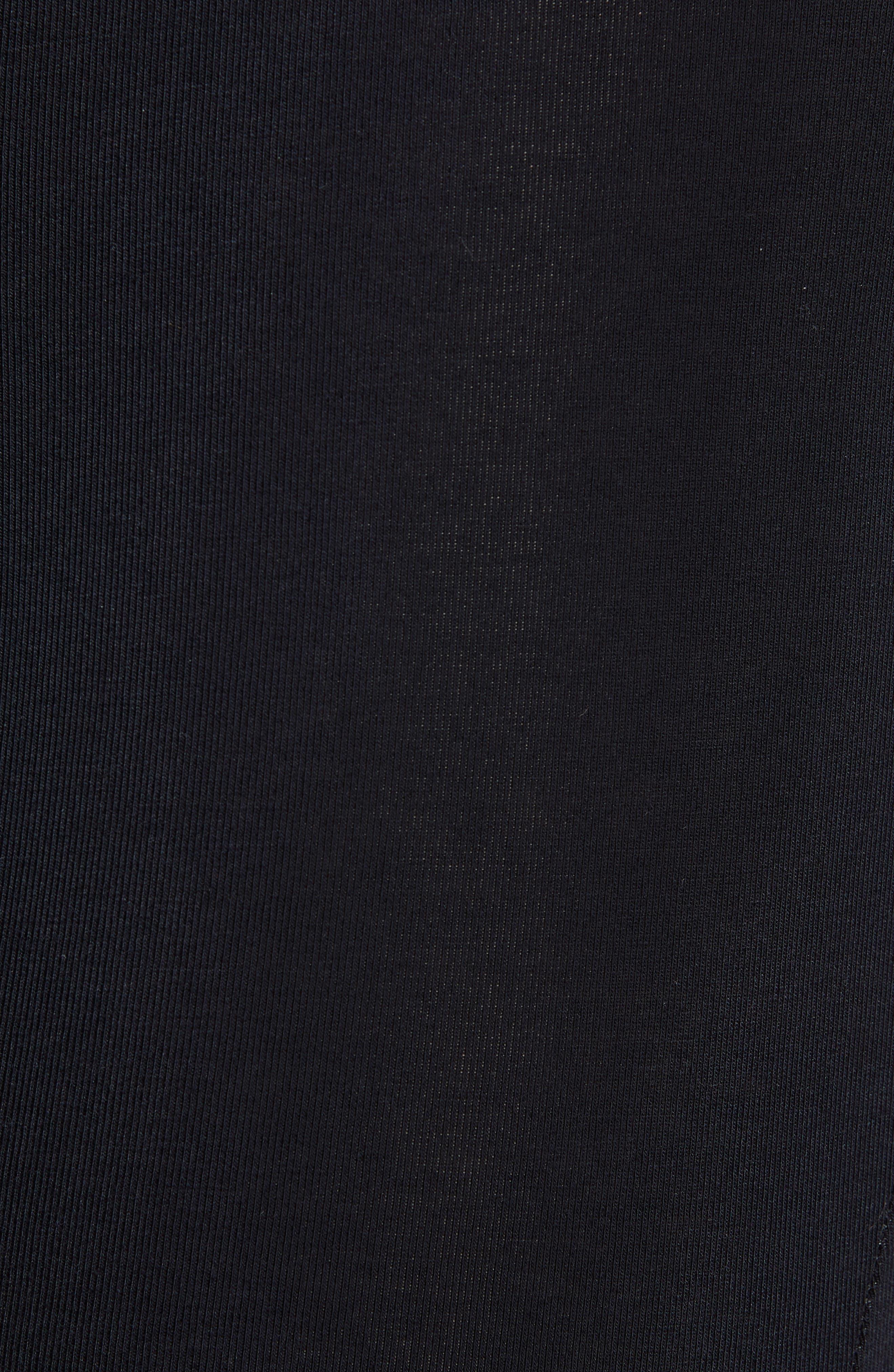 Stretch Cotton Trunks,                             Alternate thumbnail 5, color,                             BLACK