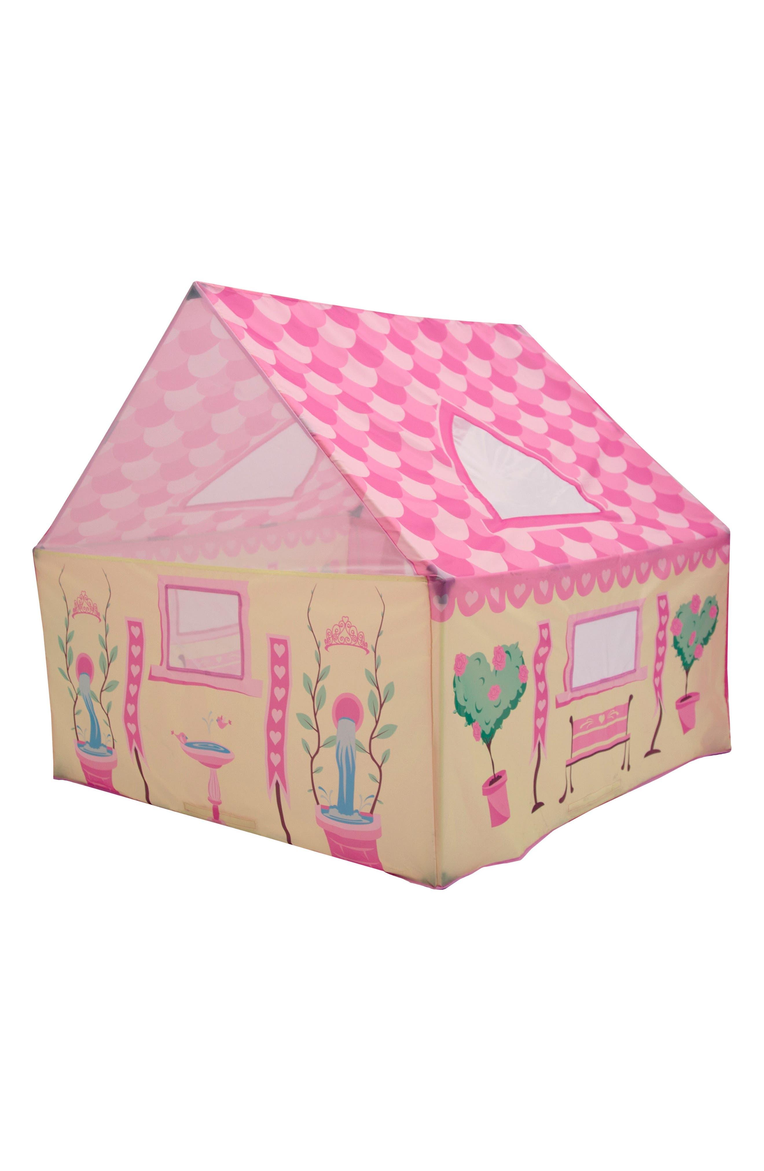 Tea Party Garden Playhouse Tent,                             Main thumbnail 1, color,                             PINK