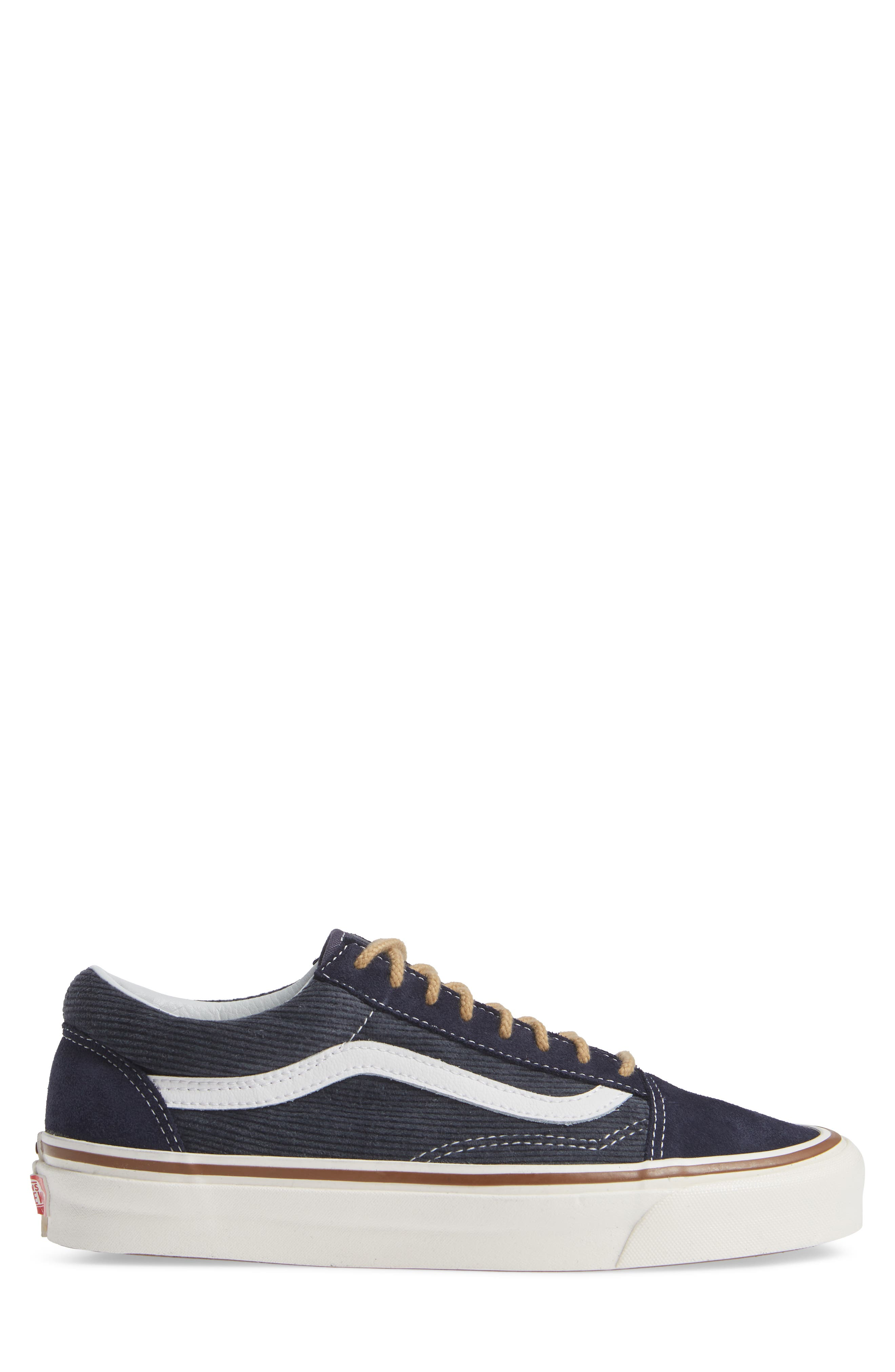 Anaheim Factory Old Skool 36 DX Sneaker,                             Alternate thumbnail 3, color,                             NAVY/ SUEDE/ CORDUROY