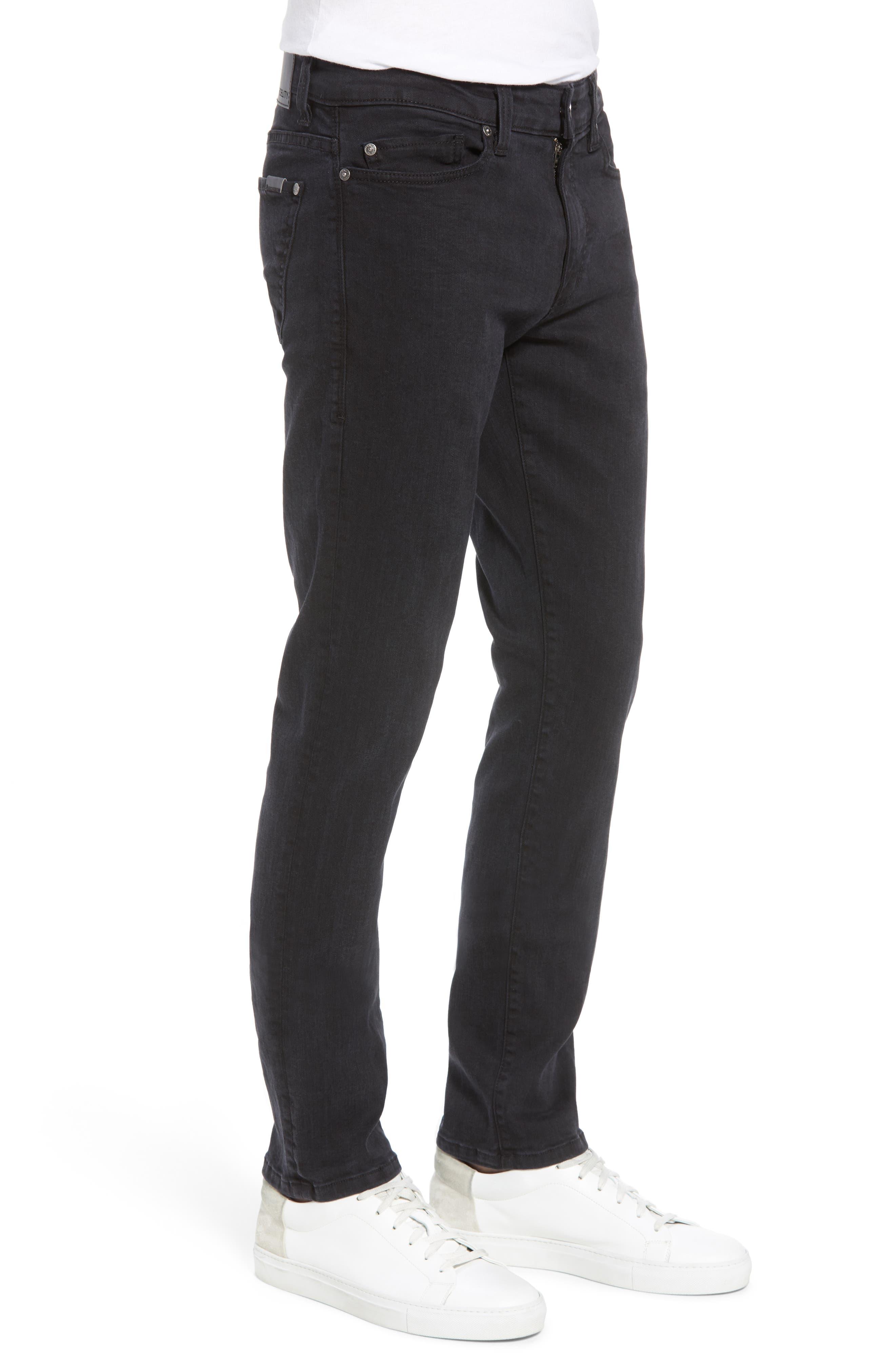 Torino Slim Fit Jeans,                             Alternate thumbnail 3, color,                             001