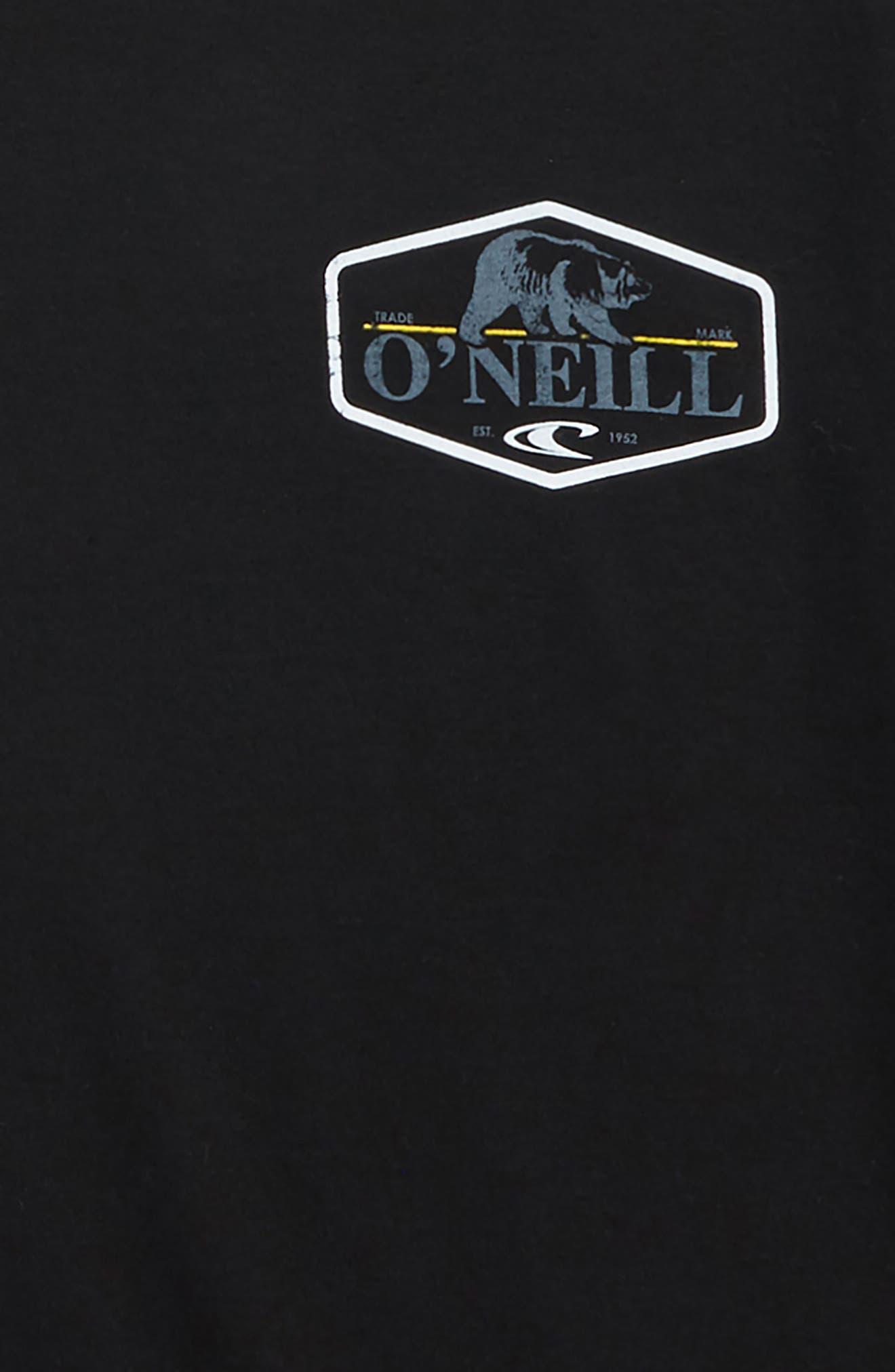 Grizzly Bear Logo Screenprint T-Shirt,                             Alternate thumbnail 7, color,