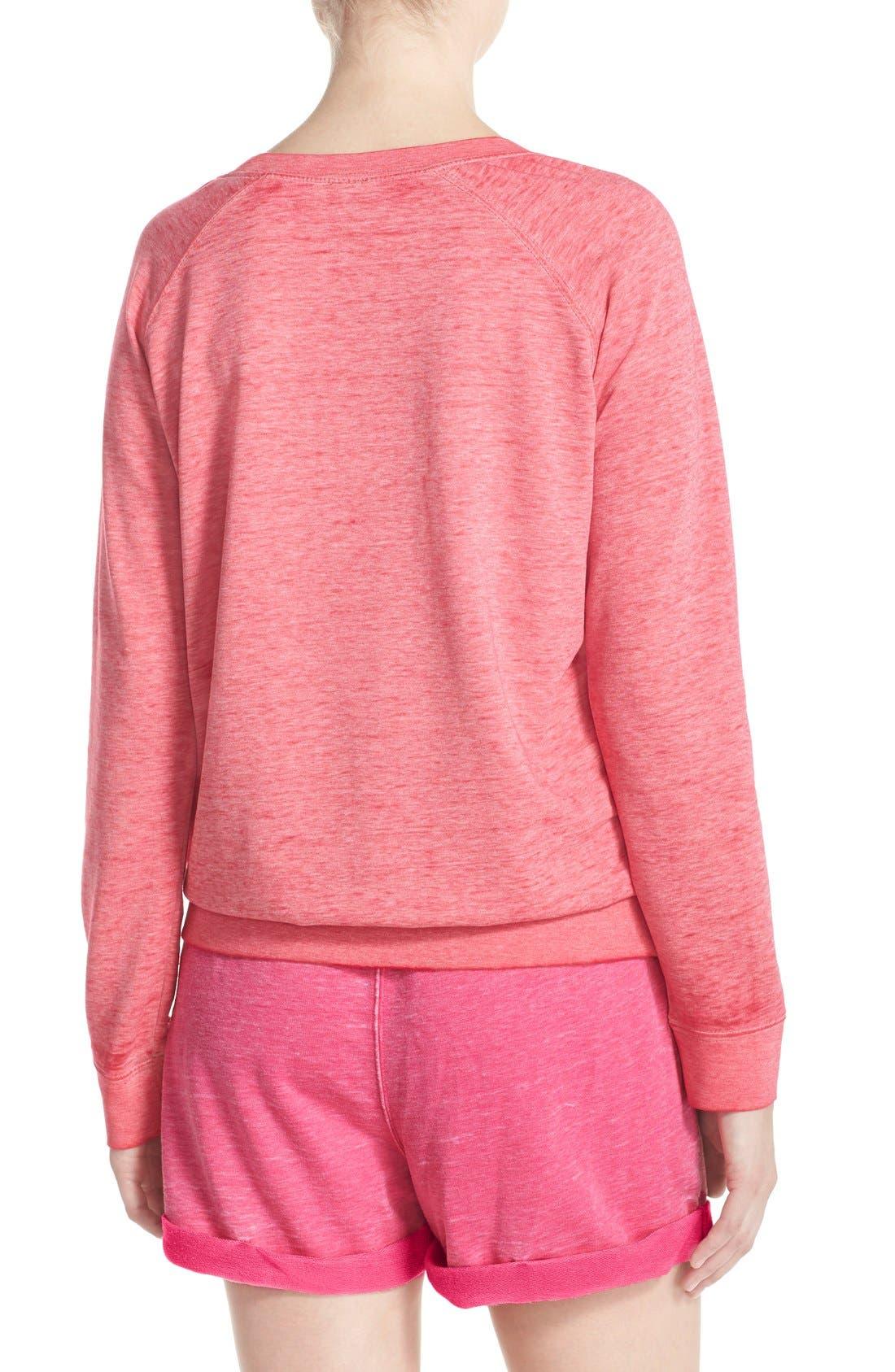 Burnout Lounge Sweatshirt,                             Alternate thumbnail 248, color,