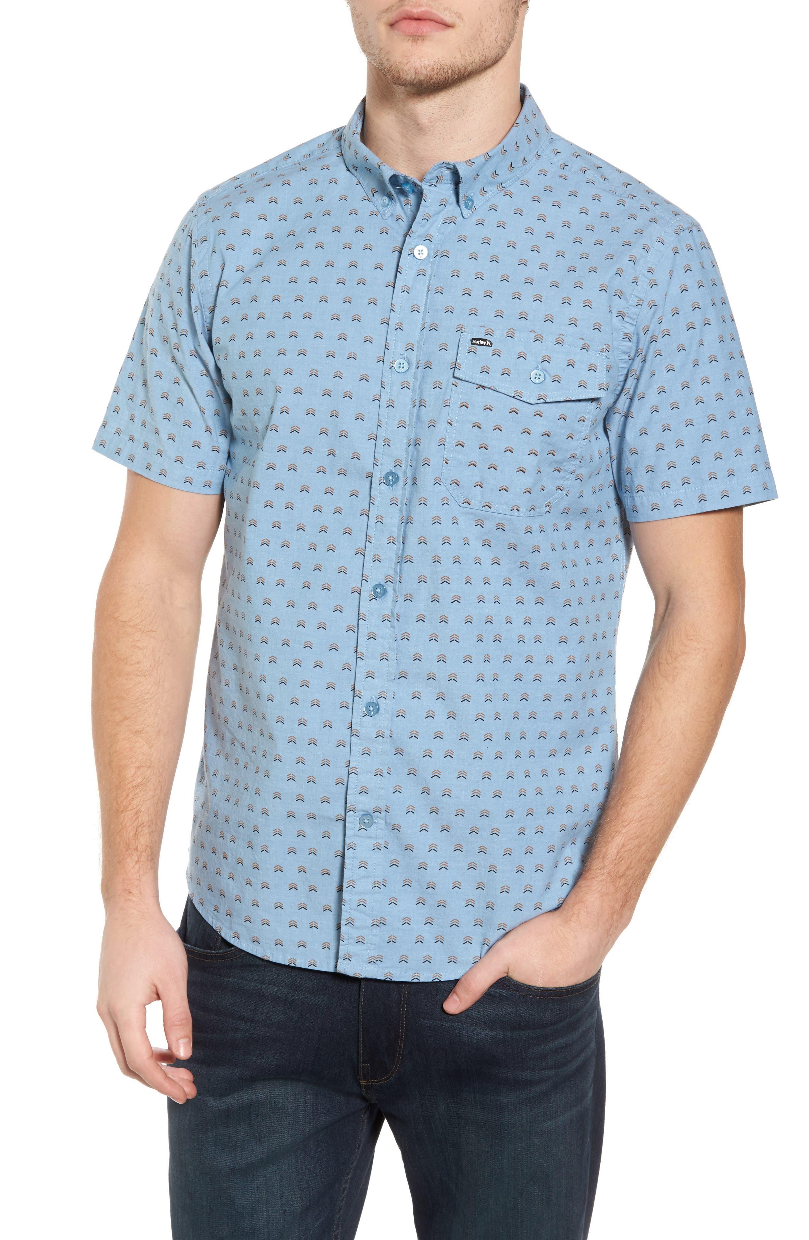 Brooks Woven Shirt,                             Main thumbnail 3, color,