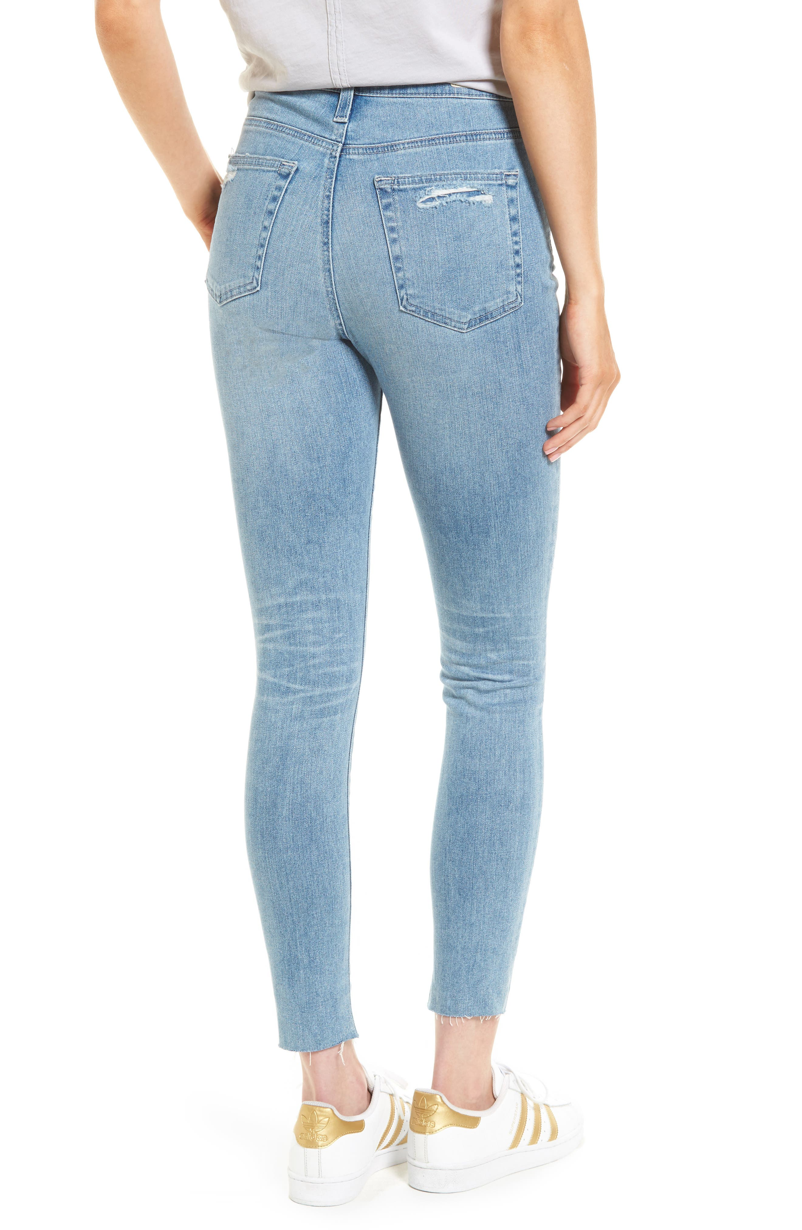 Mila High Waist Ankle Skinny Jeans,                             Alternate thumbnail 2, color,                             426