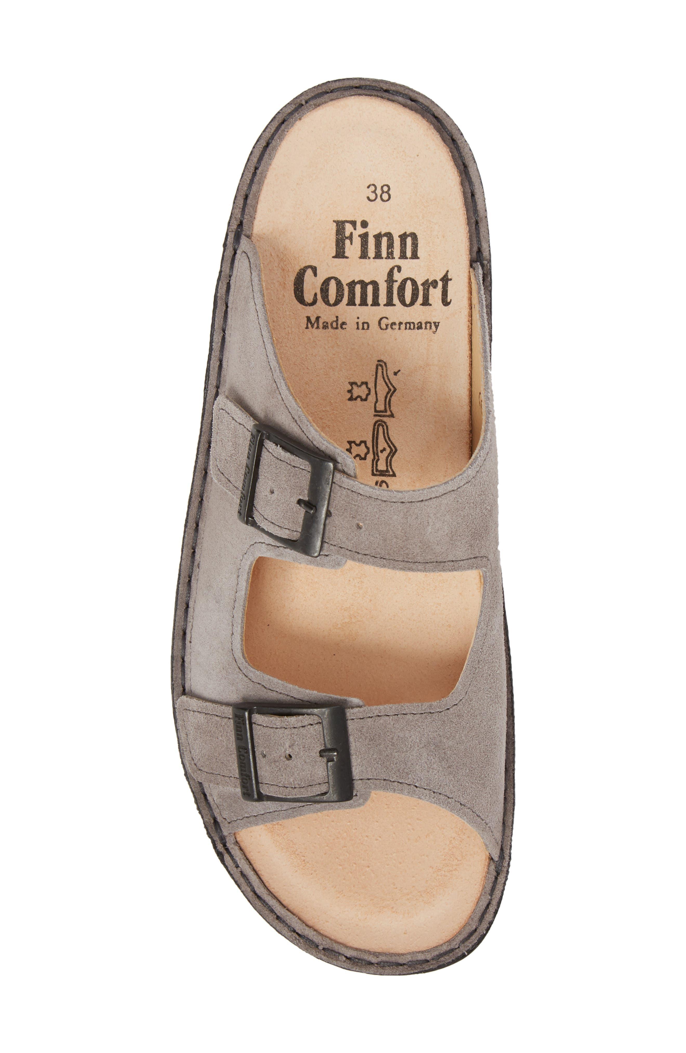 Hollister Slide Sandal,                             Alternate thumbnail 5, color,                             GINGER LEATHER