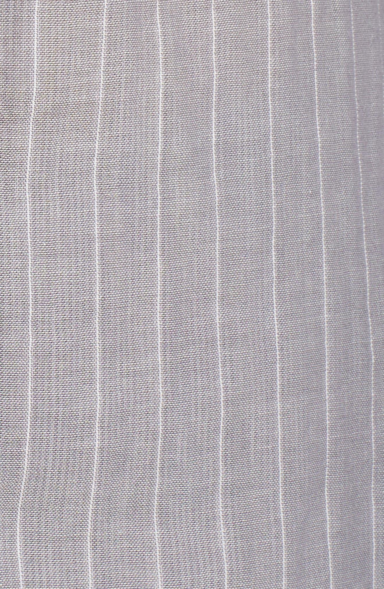 Raven Stripe Pajamas,                             Alternate thumbnail 5, color,                             020