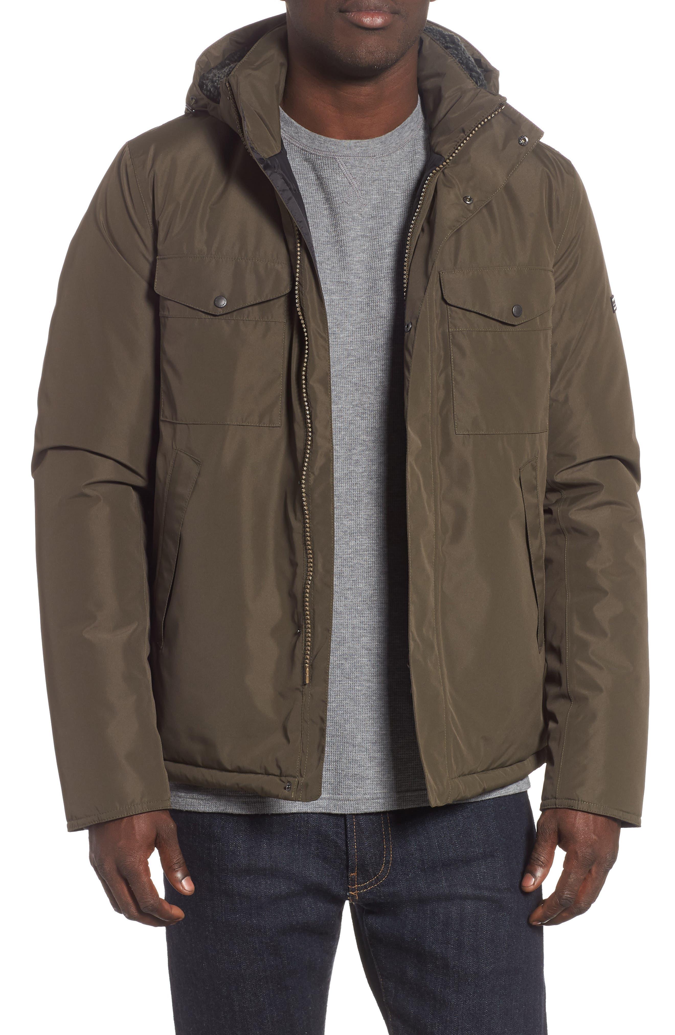 Barbour Bi Ratio Waterproof Jacket, Green