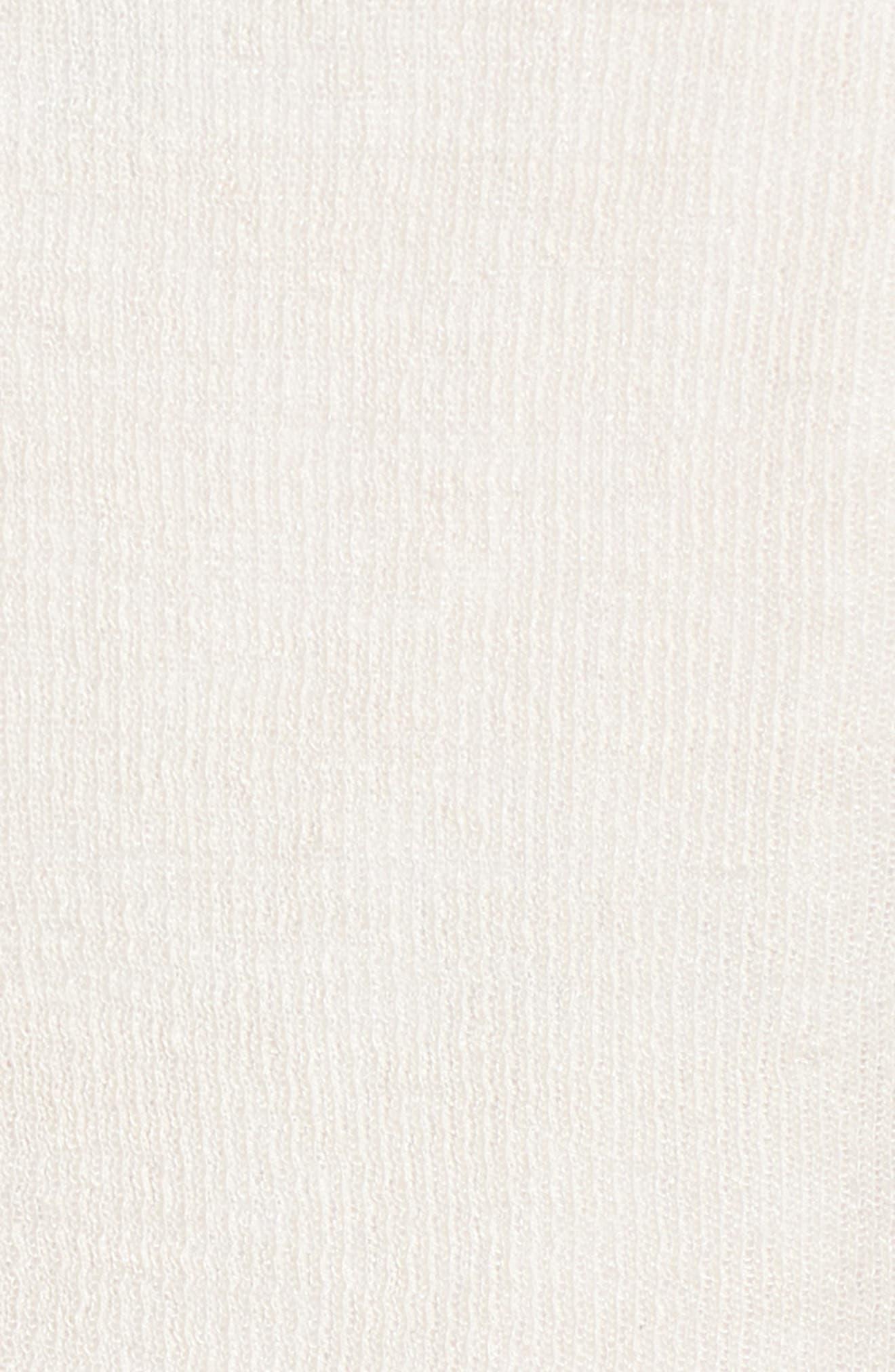 Tie Front Organic Linen Blend Cardigan,                             Alternate thumbnail 16, color,