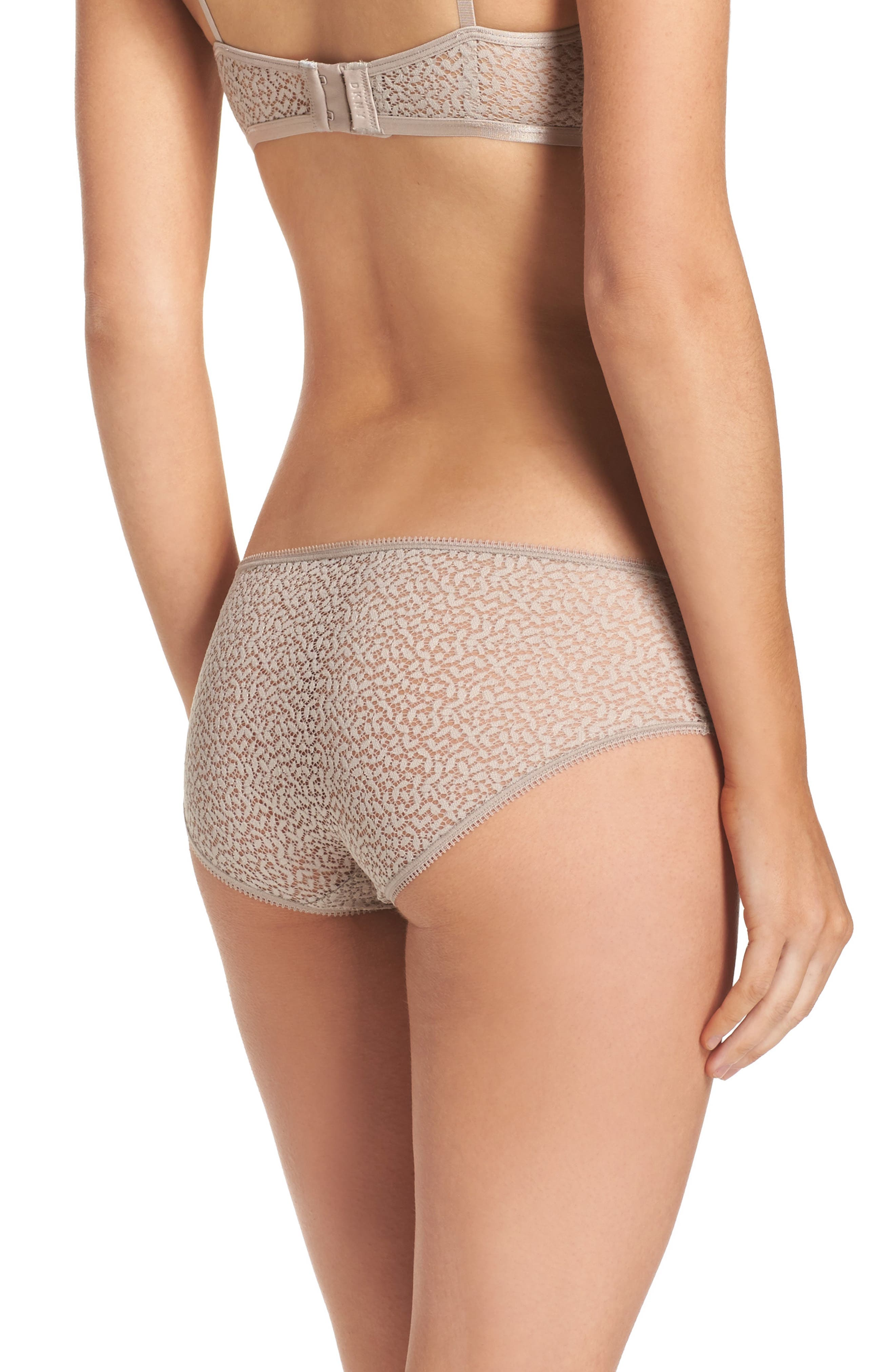 Modern Lace Hipster Panties,                             Alternate thumbnail 6, color,