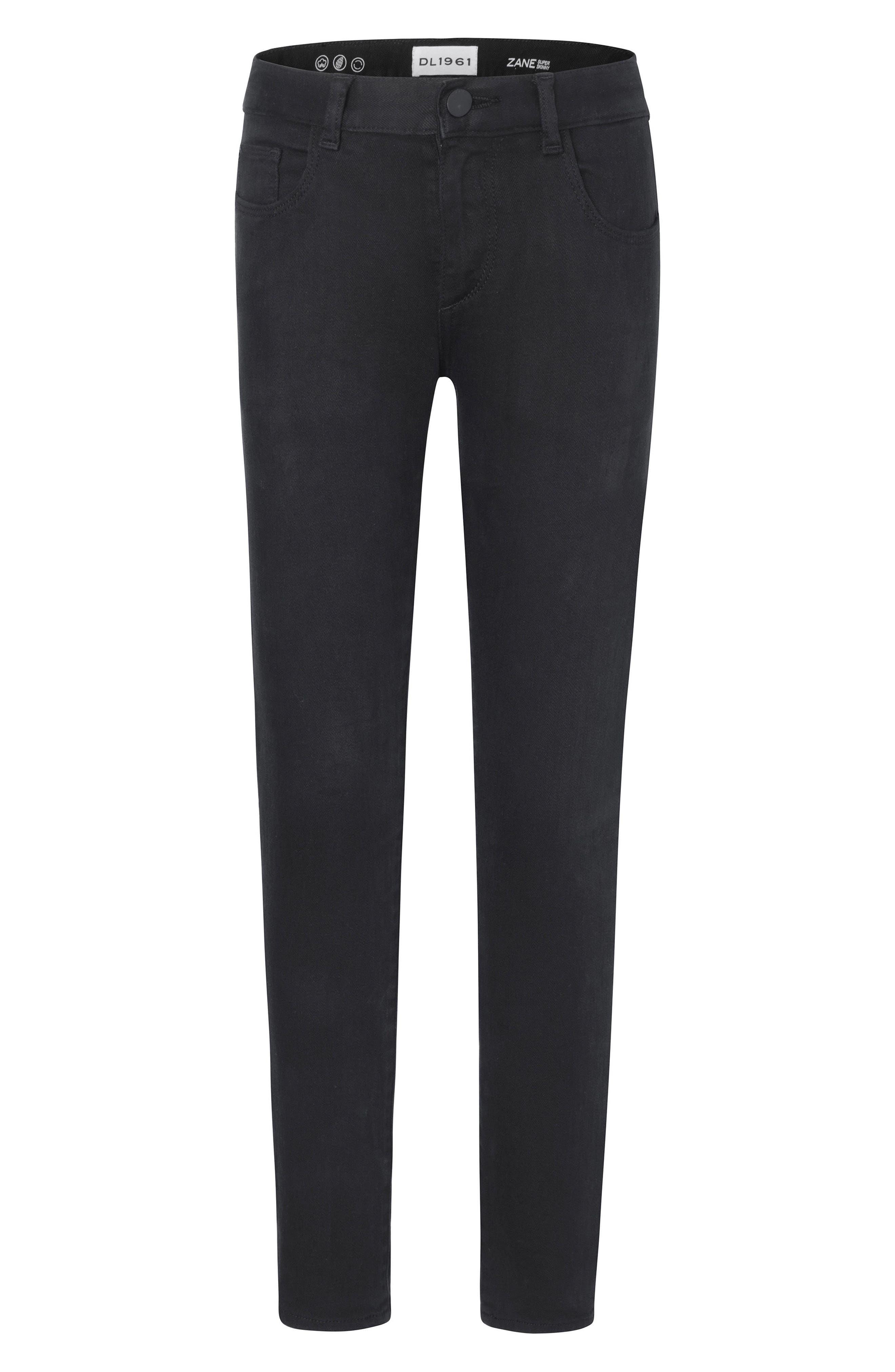 Toddler Boys Dl1961 Zane Super Skinny Fit Jeans Size 3T  Black