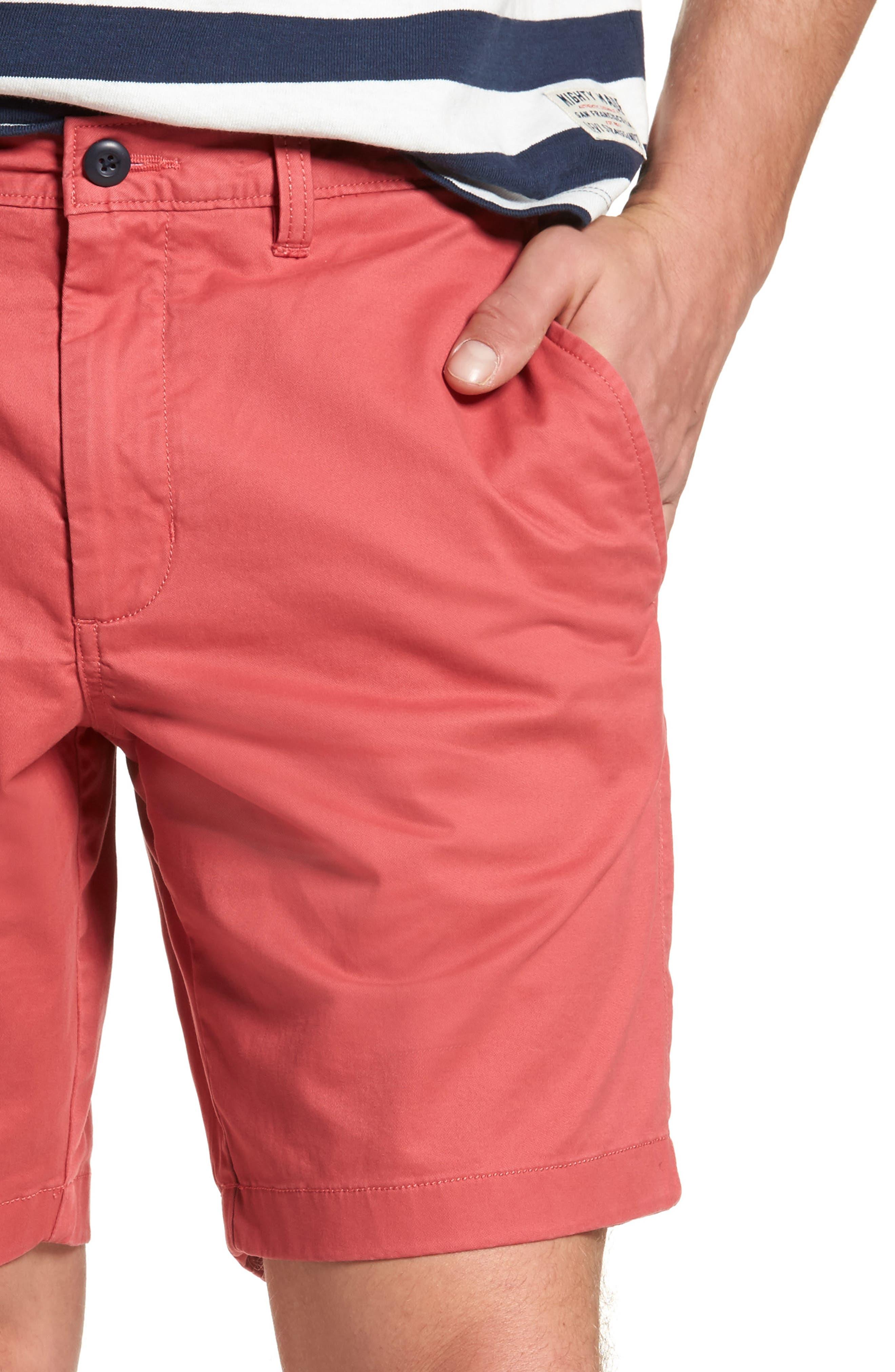 Ballard Slim Fit Stretch Chino 9-Inch Shorts,                             Alternate thumbnail 47, color,