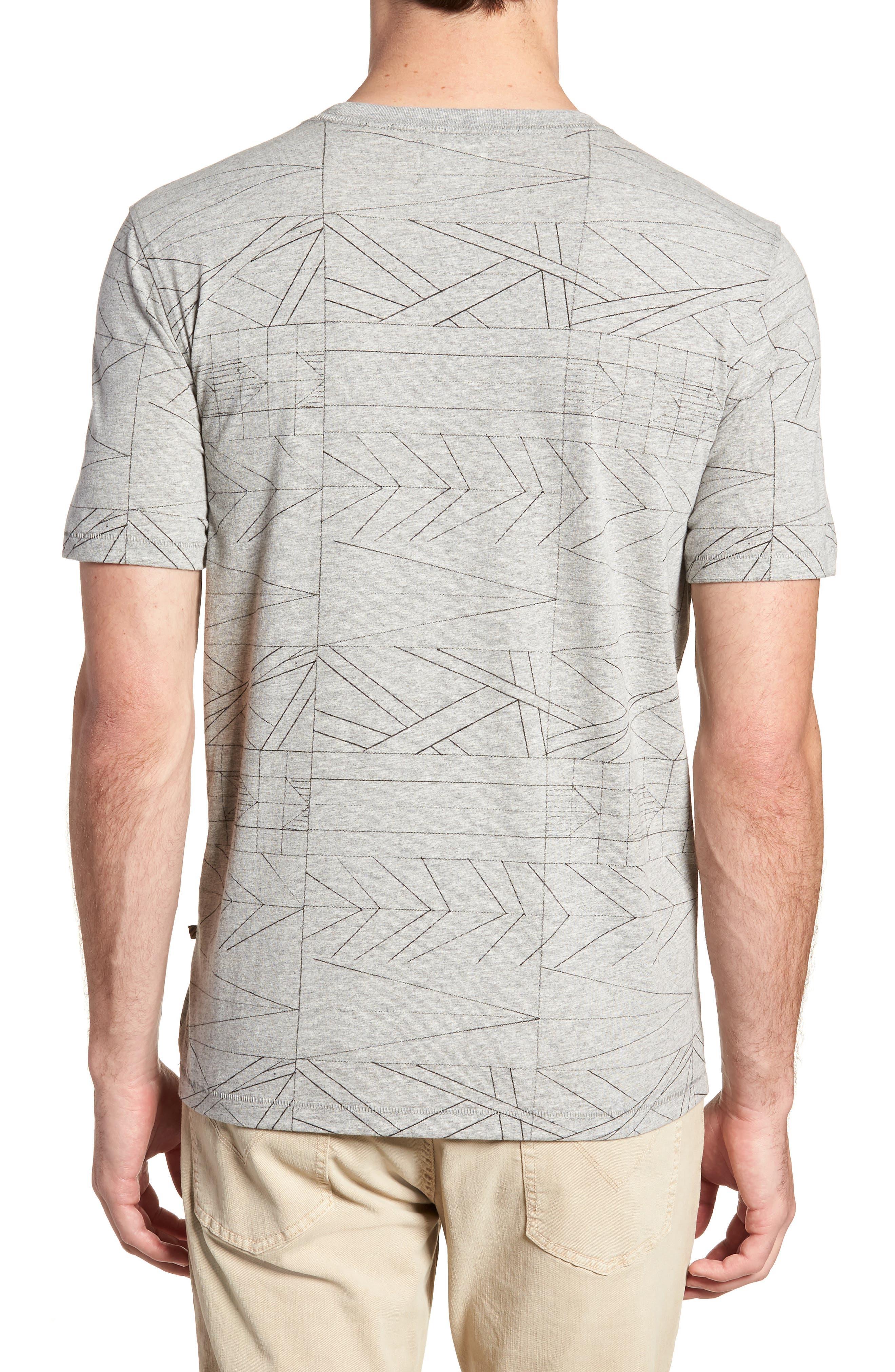 Fracture Line Crewneck T-Shirt,                             Alternate thumbnail 2, color,                             FRACTURE LINE