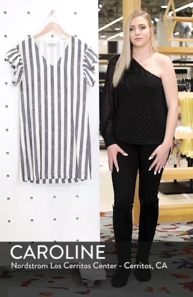Ruffle Sleeve Shift Dress, sales video thumbnail