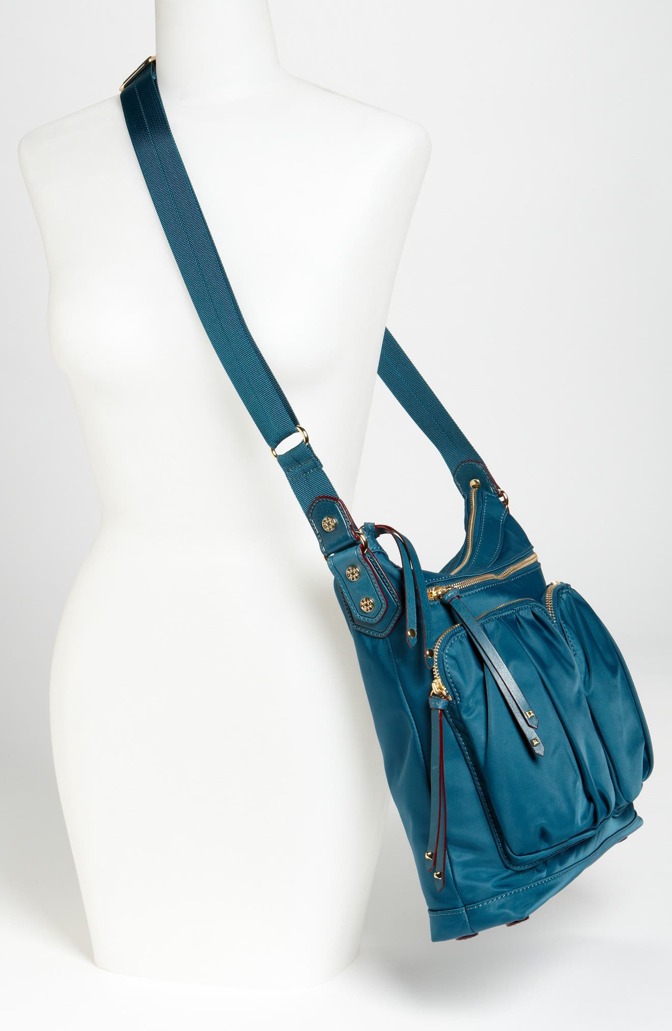 M Z Wallace Mia Crossbody Bag,                             Alternate thumbnail 11, color,