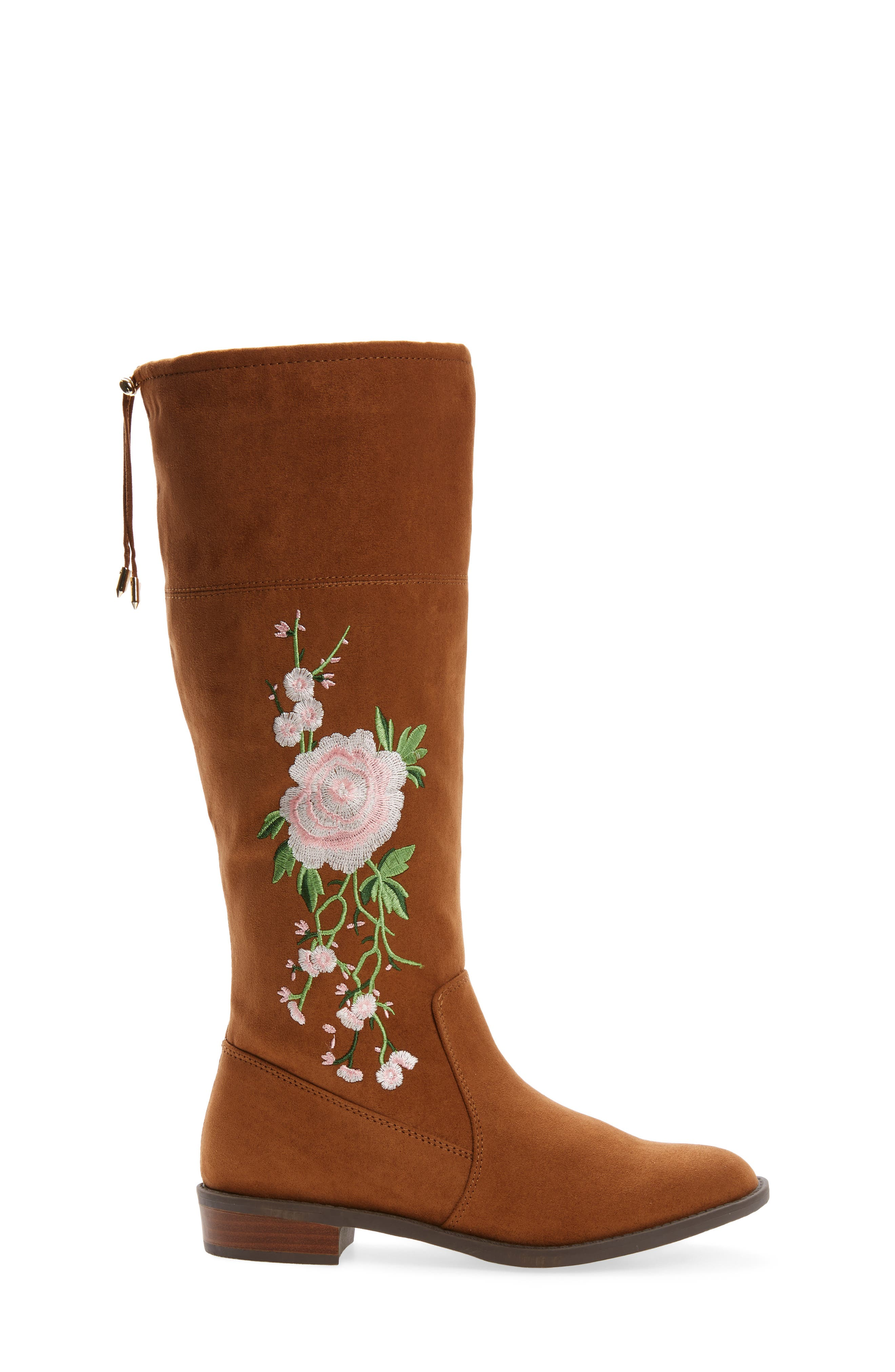 Pia Kent Embroidered Boot,                             Alternate thumbnail 3, color,                             200