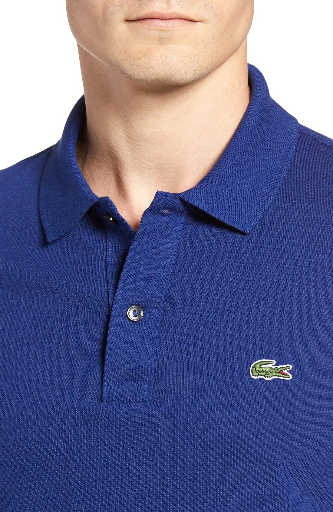 Slim Fit Piqué Polo,                             Alternate thumbnail 52, color,
