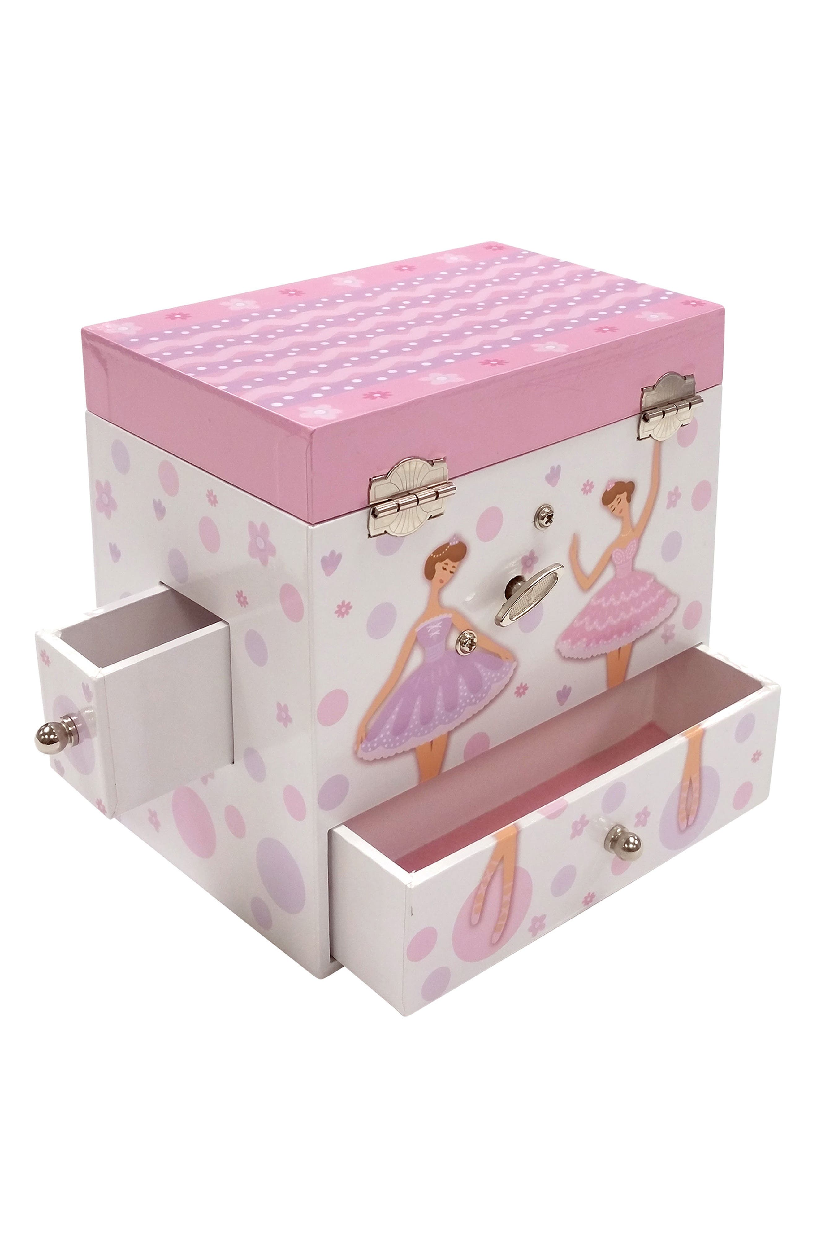 Jolie Musical Jewelry Box,                             Alternate thumbnail 3, color,