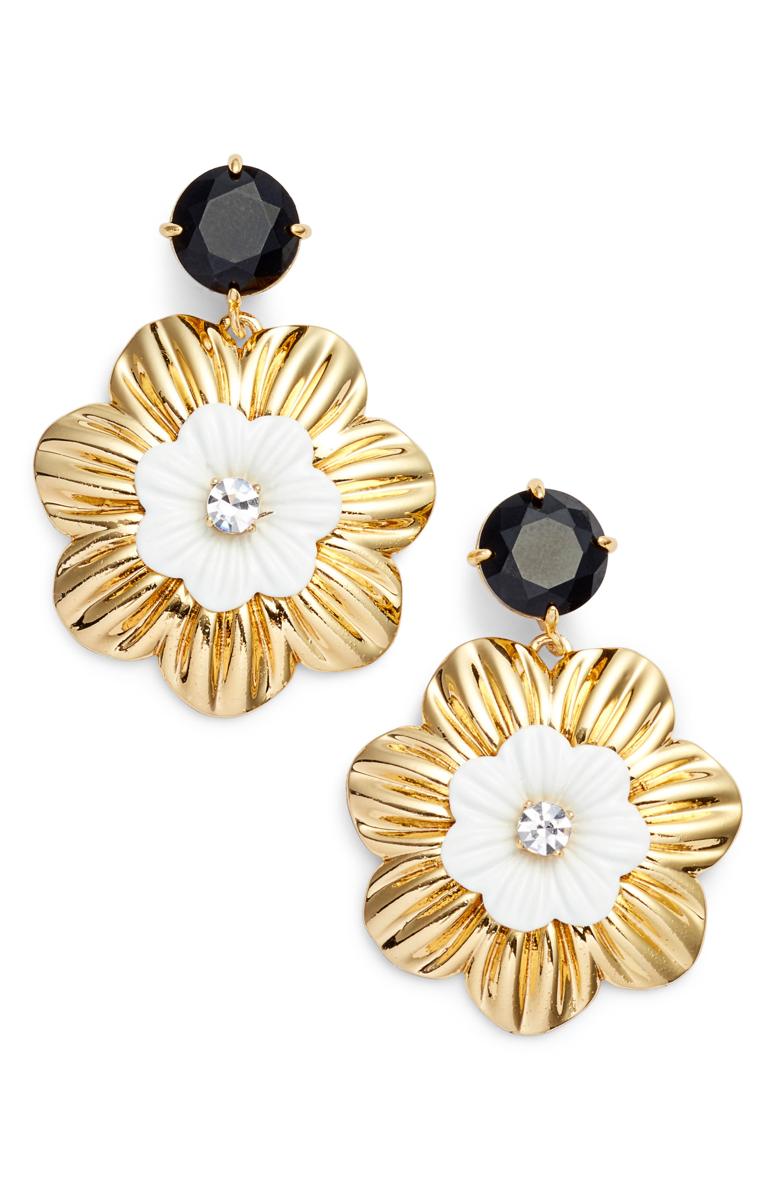 posy grove drop earrings,                             Main thumbnail 2, color,