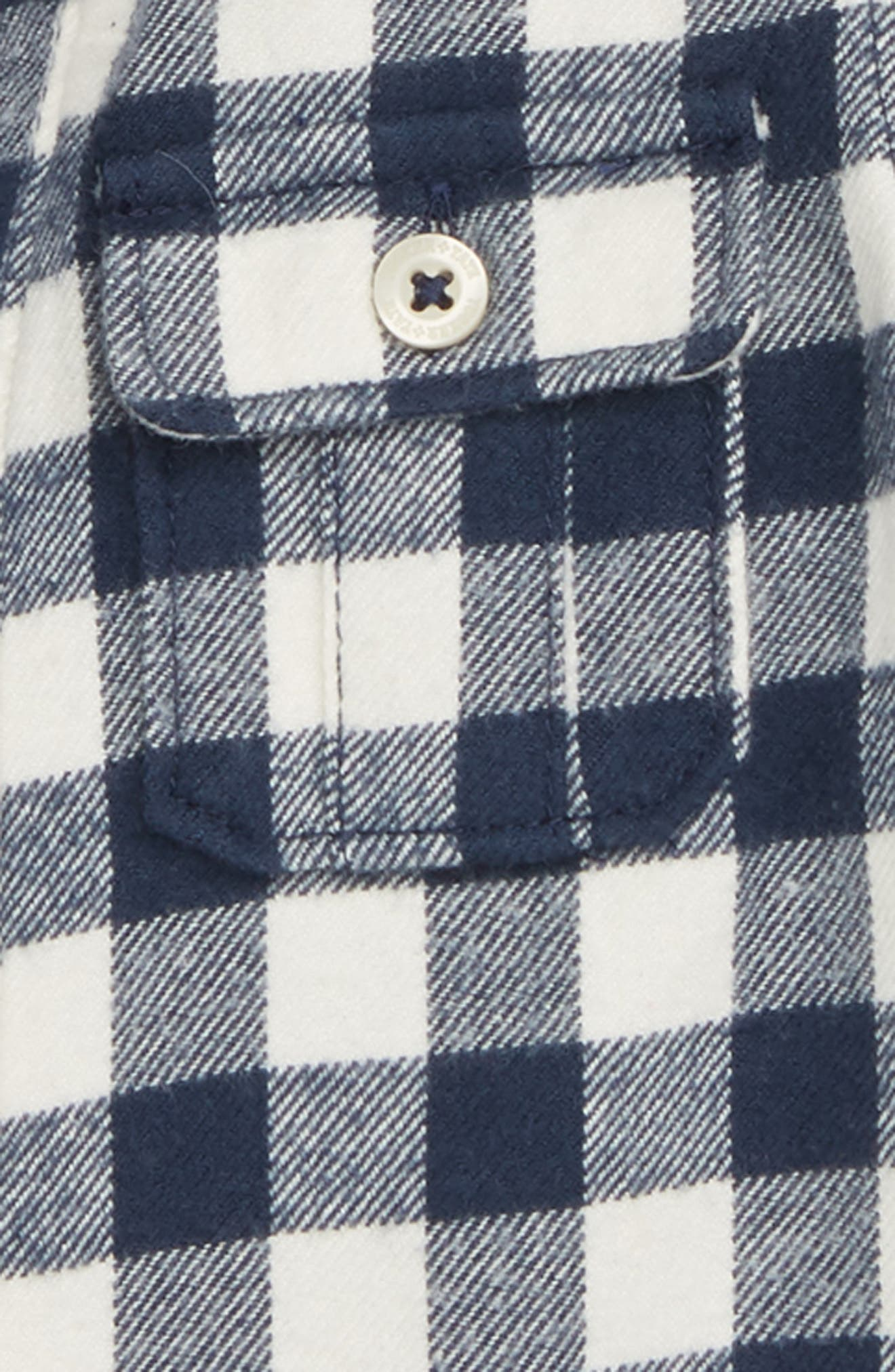 Plaid Hooded Flannel Shirt,                             Alternate thumbnail 2, color,                             410