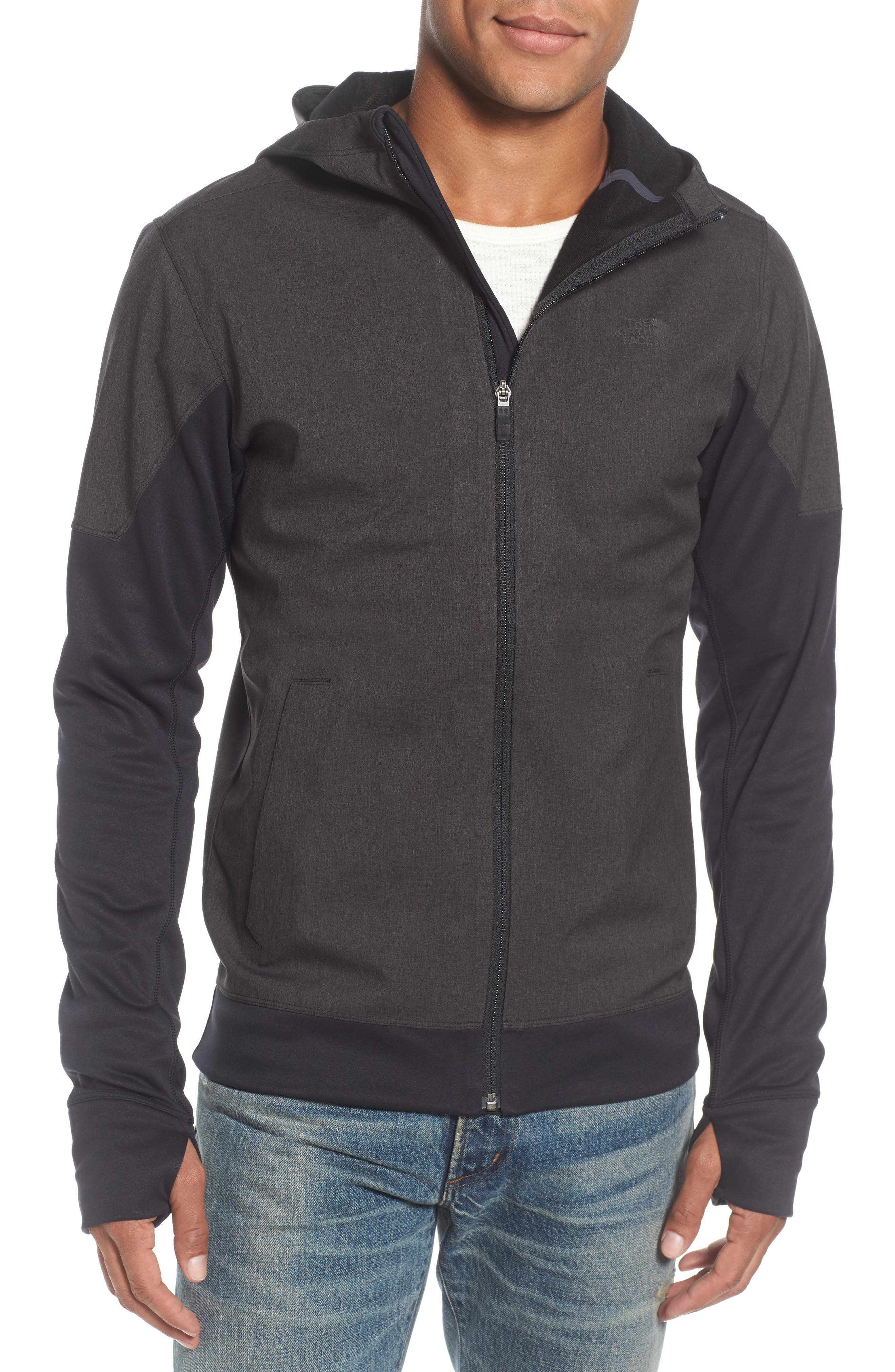 'Kilowatt' Hooded Jacket,                         Main,                         color, 001