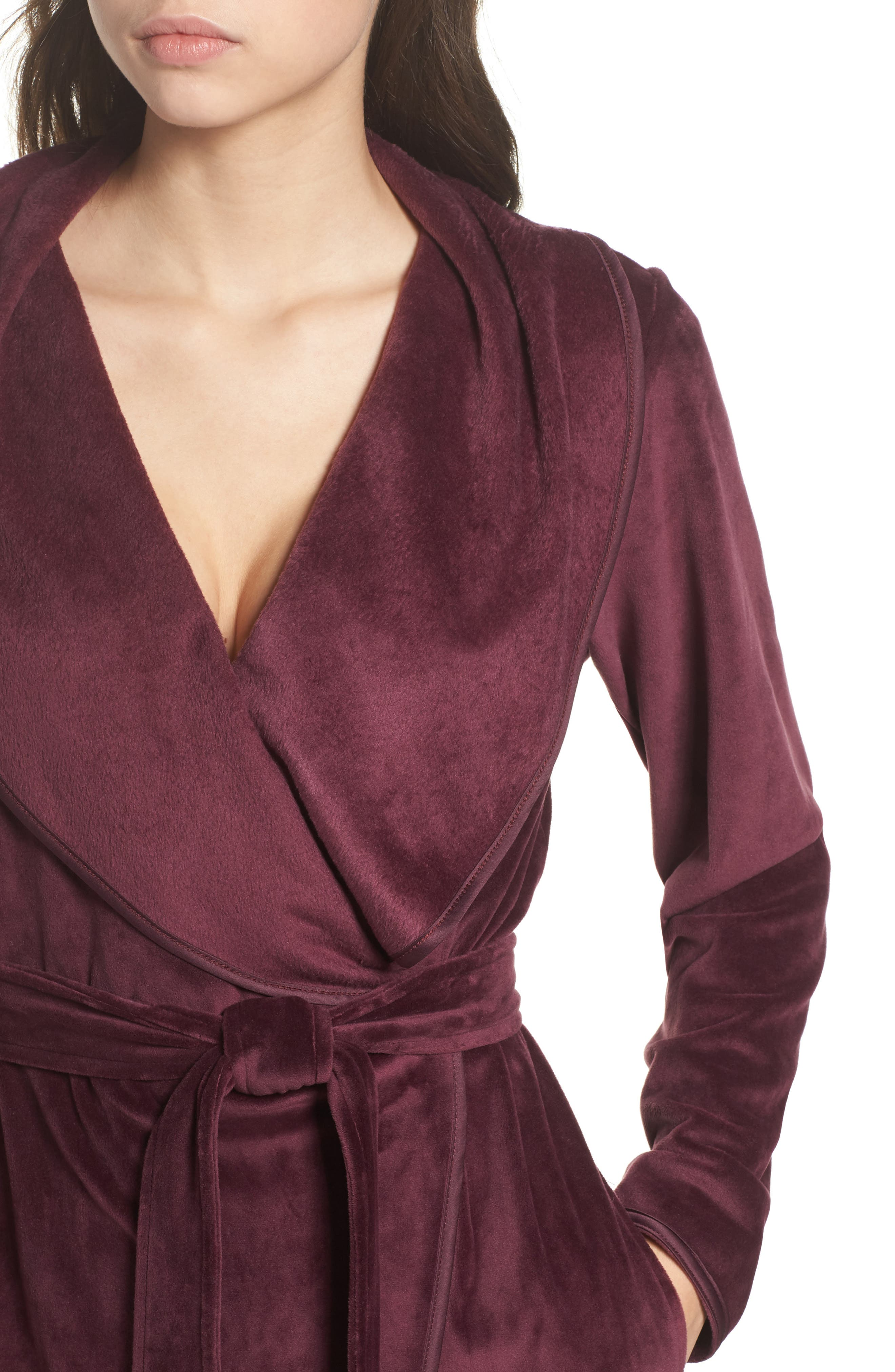 Luxe Shawl Robe,                             Alternate thumbnail 12, color,