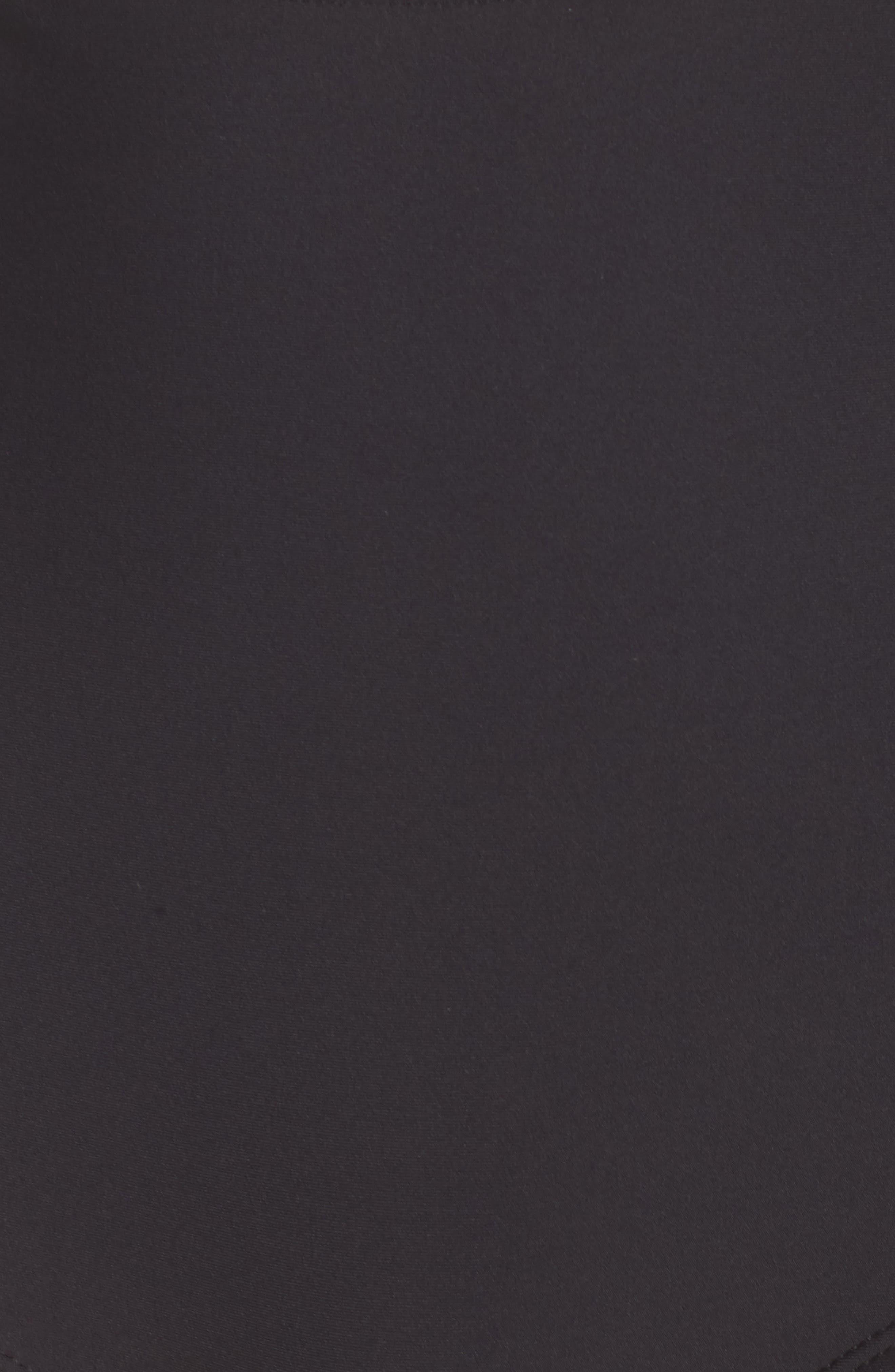 French Bikini Top,                             Alternate thumbnail 5, color,                             BLACK