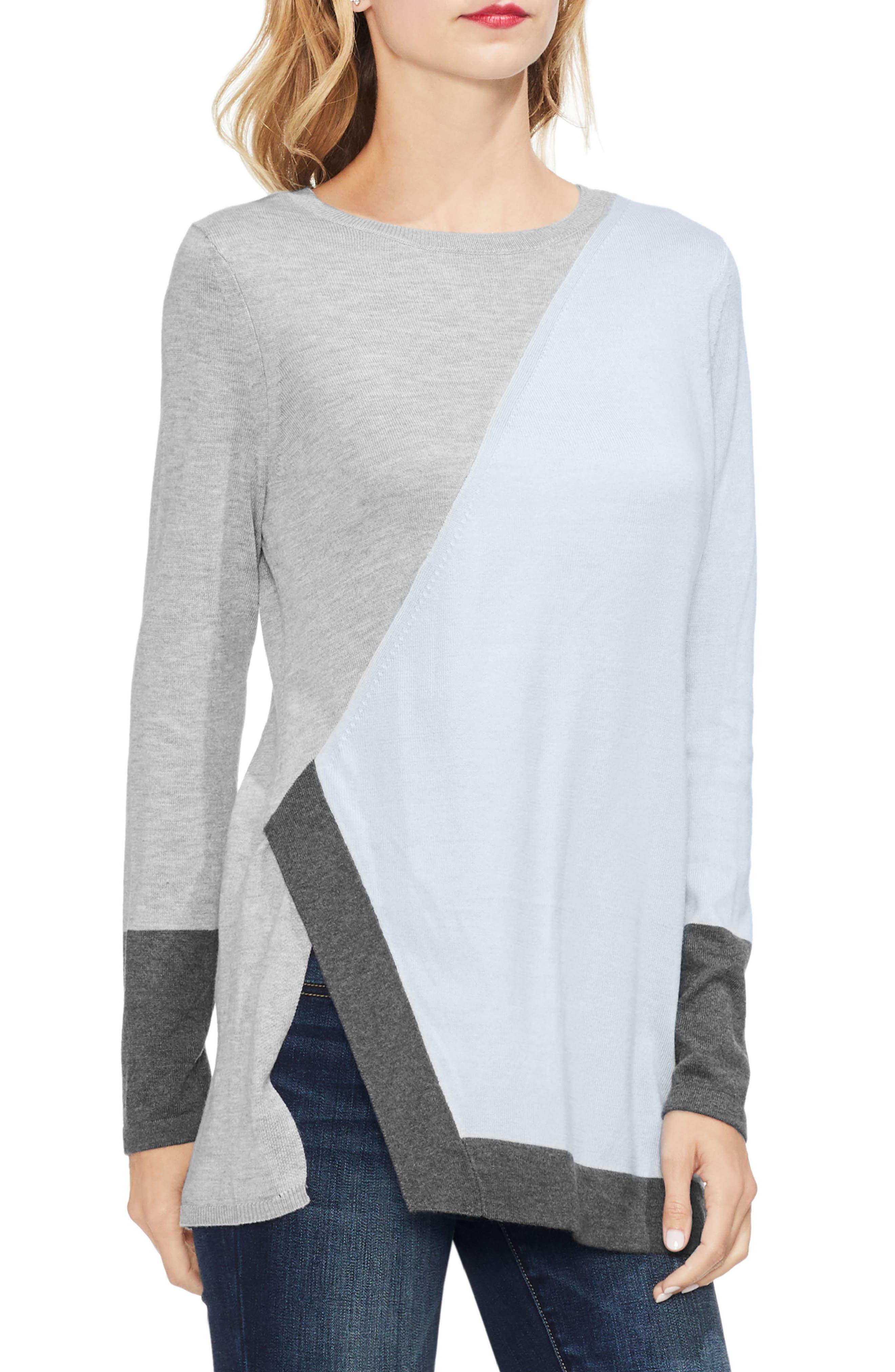 Colorblock Sweater,                         Main,                         color, NORTHERN LIGHTS