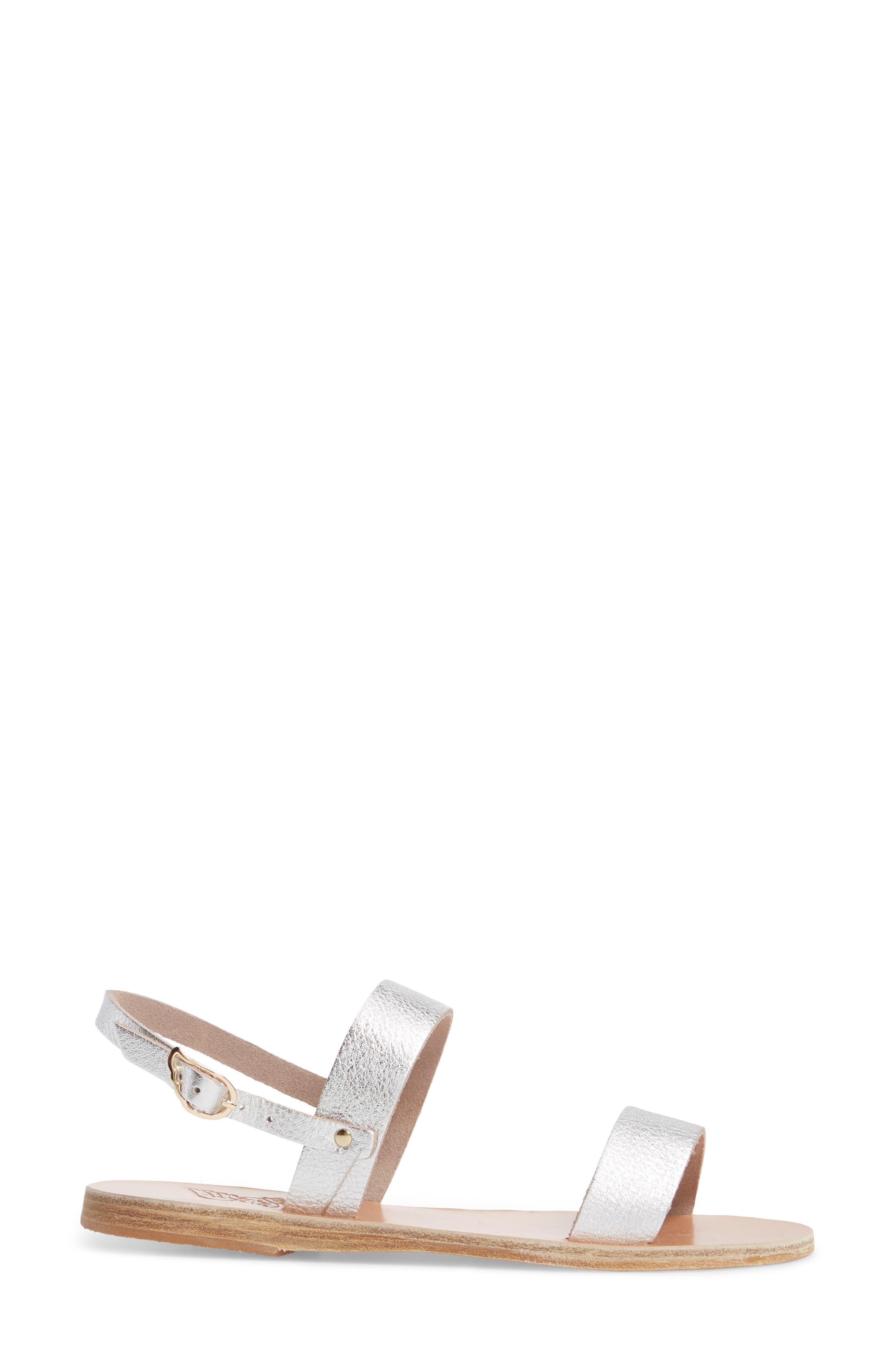 Clio Slingback Sandal,                             Alternate thumbnail 3, color,                             041