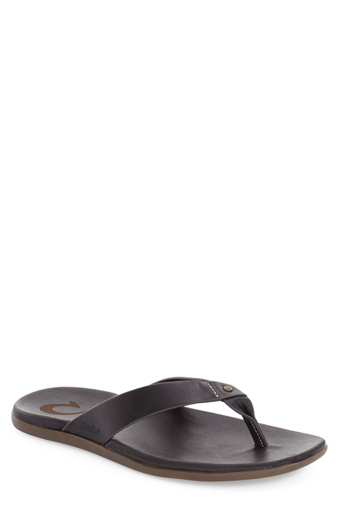'Kapua' Flip Flop, Main, color, 001