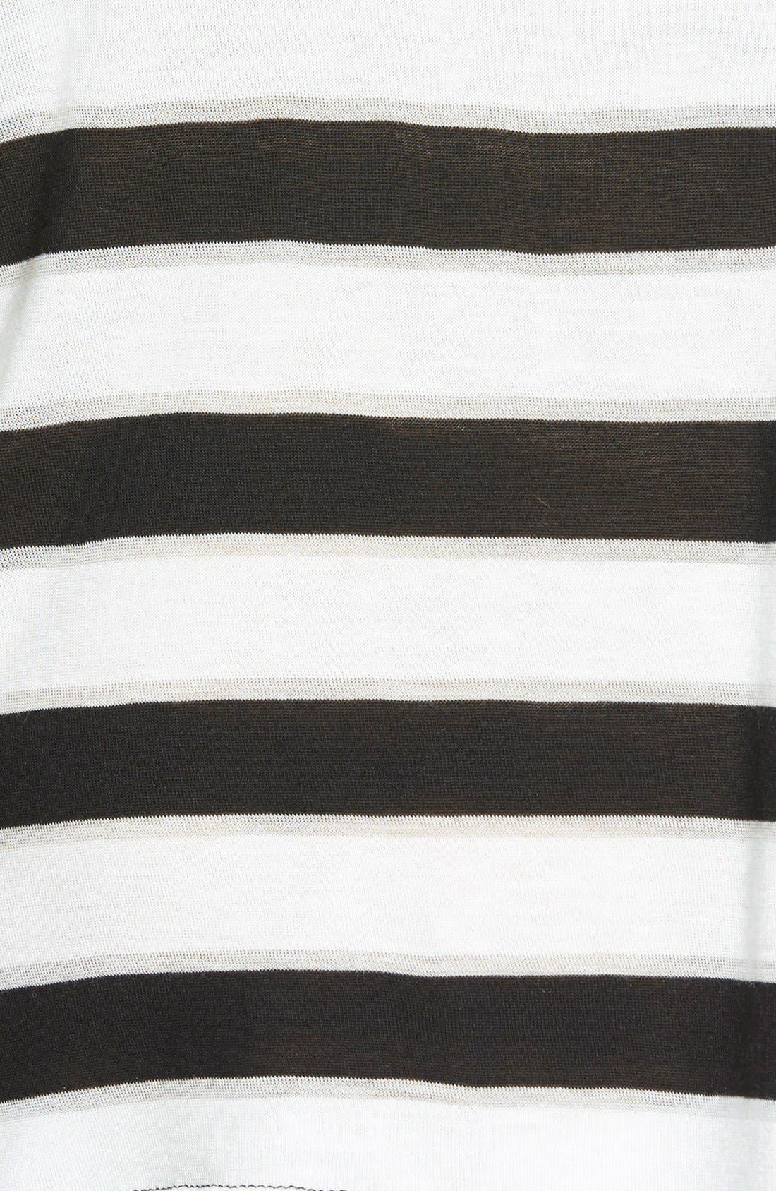 Stripe Short Sleeve Tee,                             Alternate thumbnail 2, color,                             001
