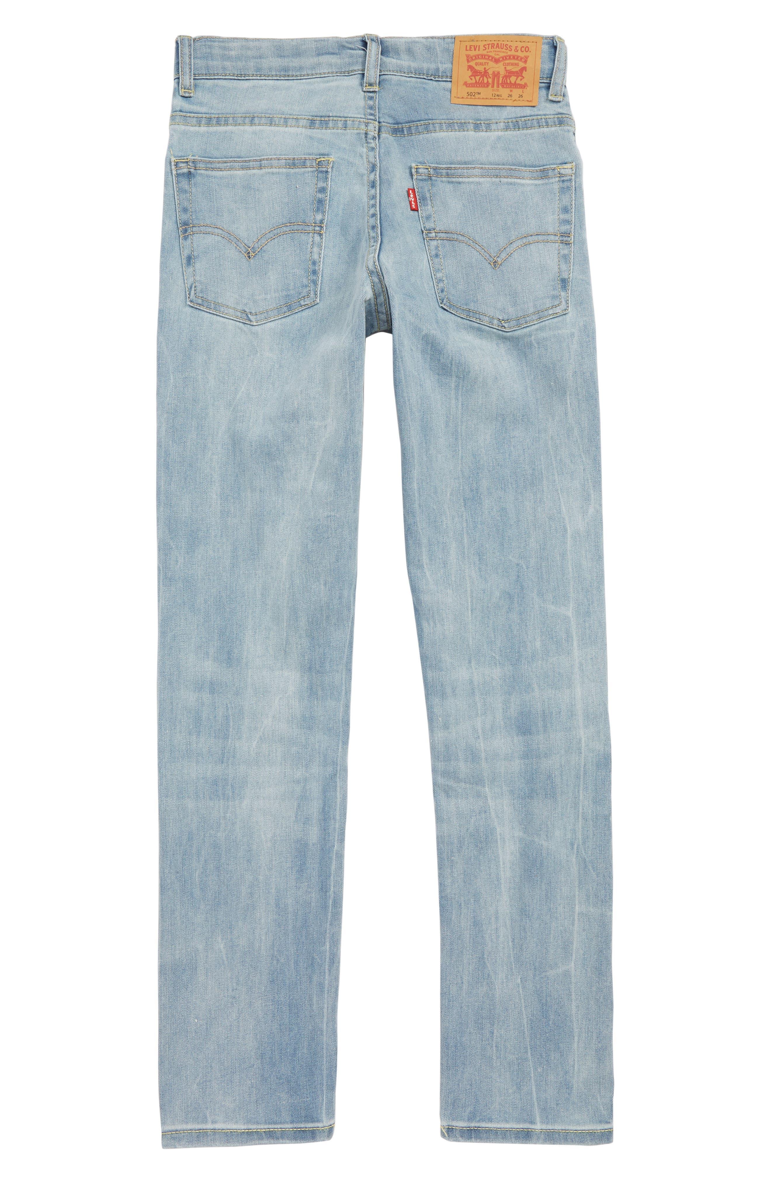 Levi's<sup>®</sup> 502<sup>™</sup> Regular Taper Jeans,                             Alternate thumbnail 2, color,                             YOSEMITE FALLS