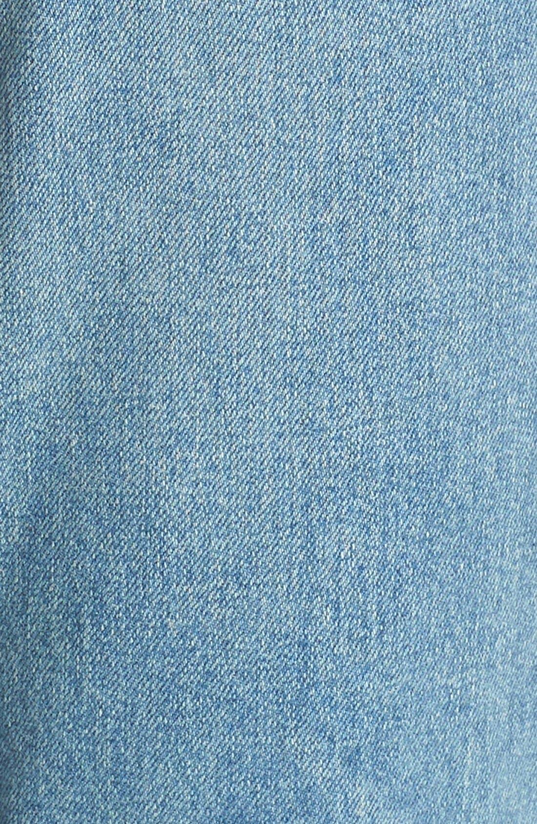 Originals High Rise Stretch Jeans,                             Alternate thumbnail 4, color,                             400