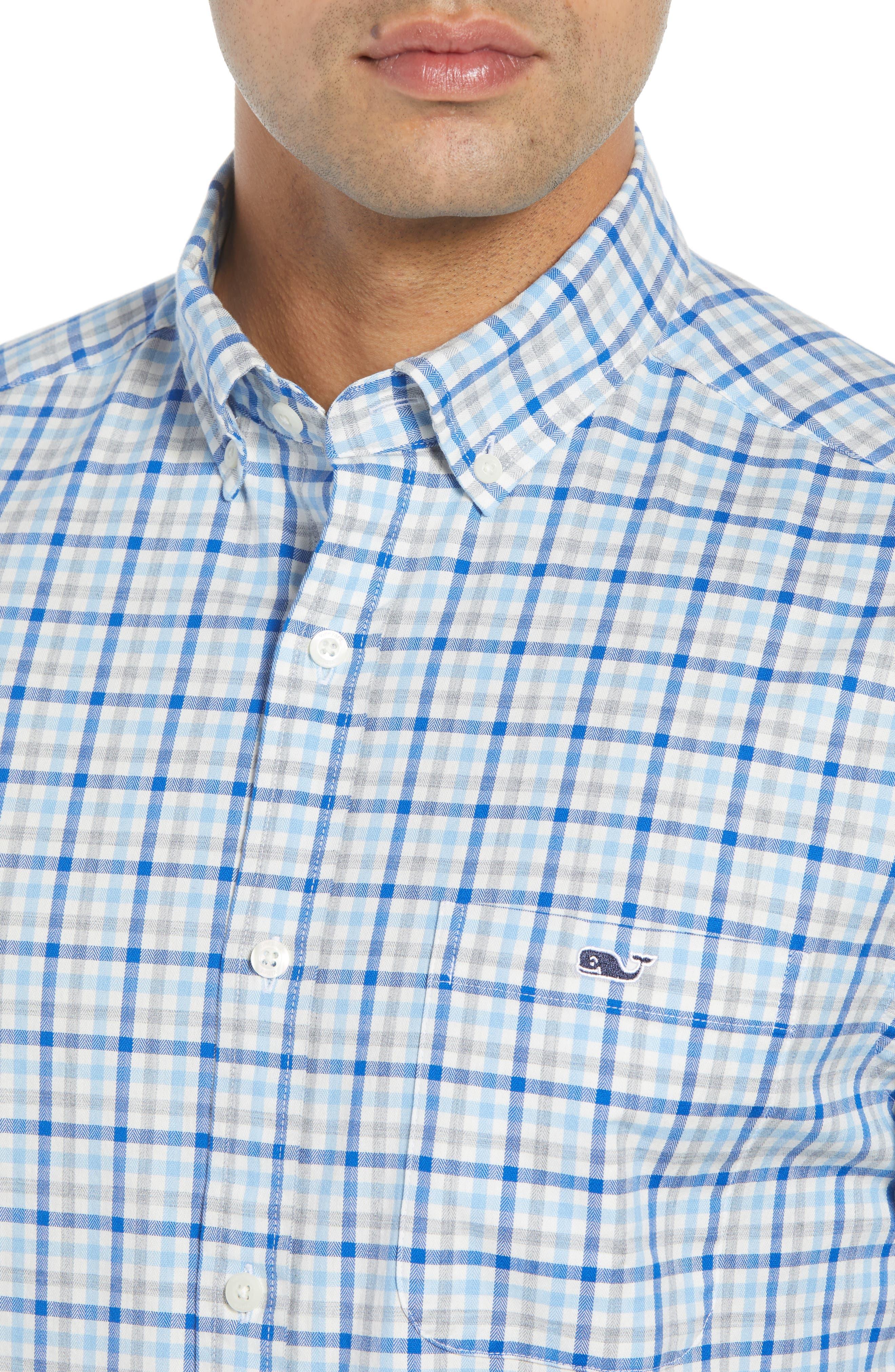 Pondview Regular Fit Check Sport Shirt,                             Alternate thumbnail 2, color,                             484