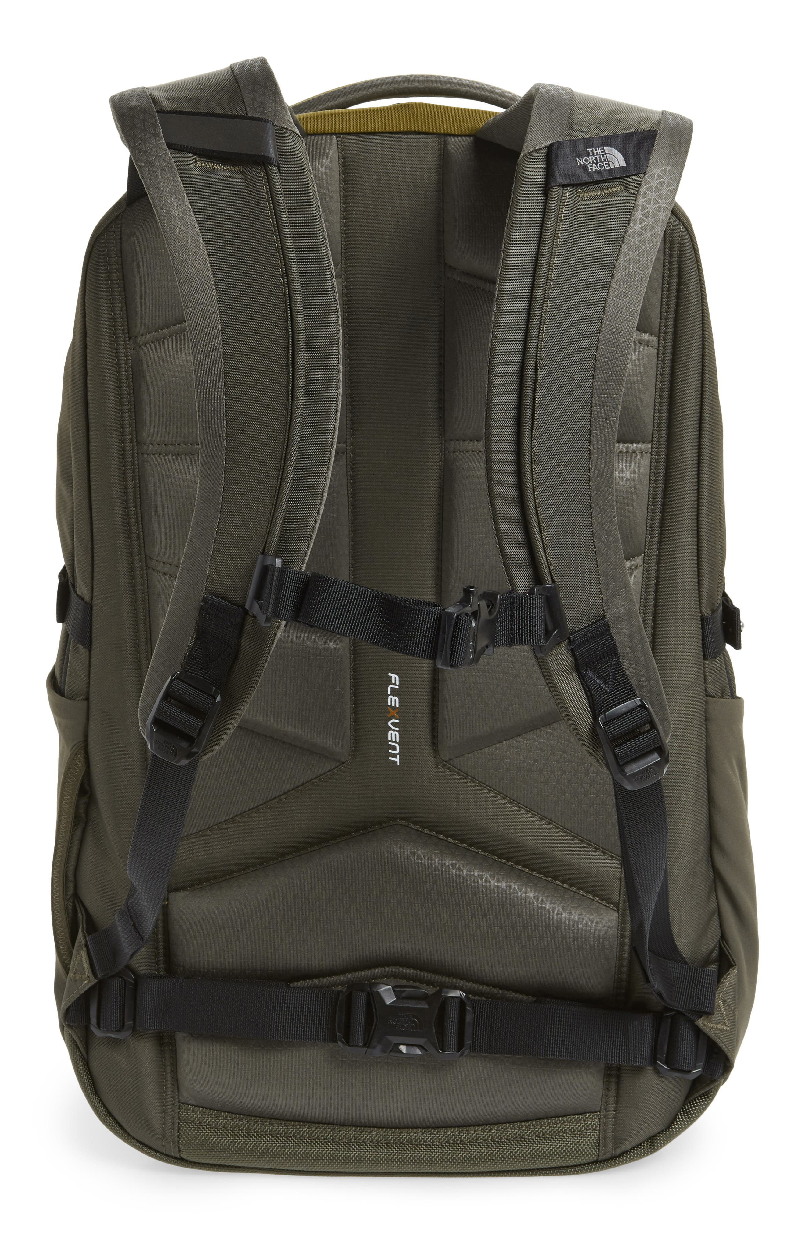 Surge Backpack,                             Alternate thumbnail 3, color,                             FIR GREEN/ NEW TAUPE GREEN