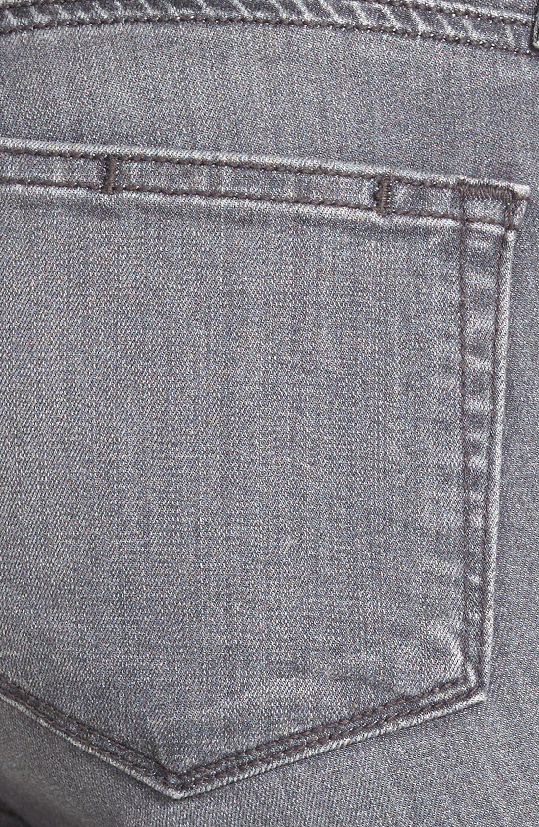 Transcend - Verdugo Ultra Skinny Jeans,                             Alternate thumbnail 3, color,                             SILVIE