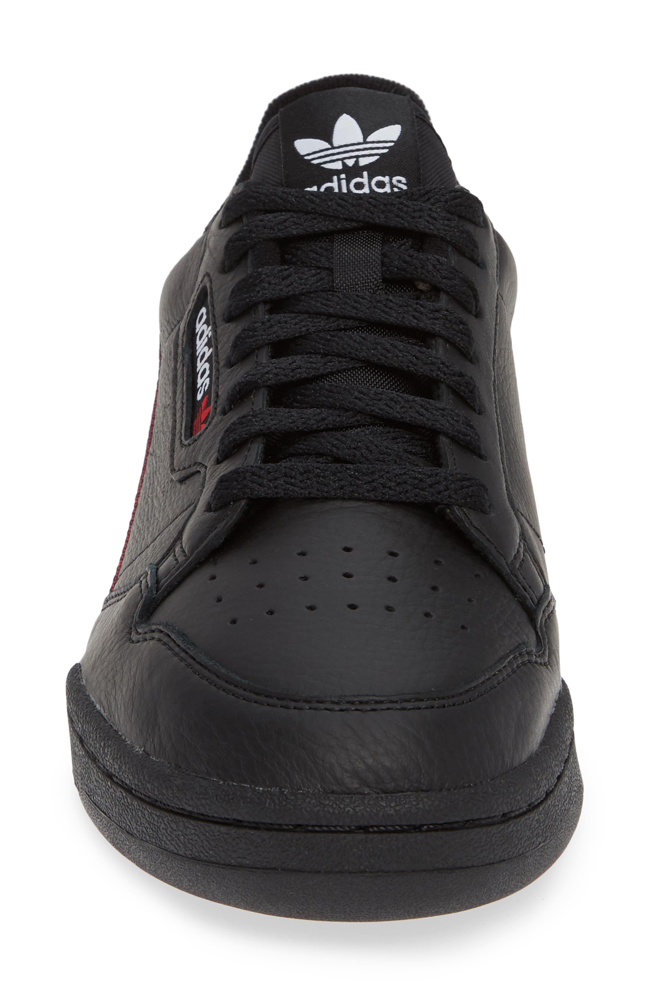 Continental 80 Sneaker,                             Alternate thumbnail 4, color,                             BLACK/ SCARLET/ NAVY