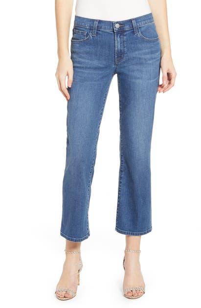 J Brand Jeans SELENA CROP BOOTCUT JEANS