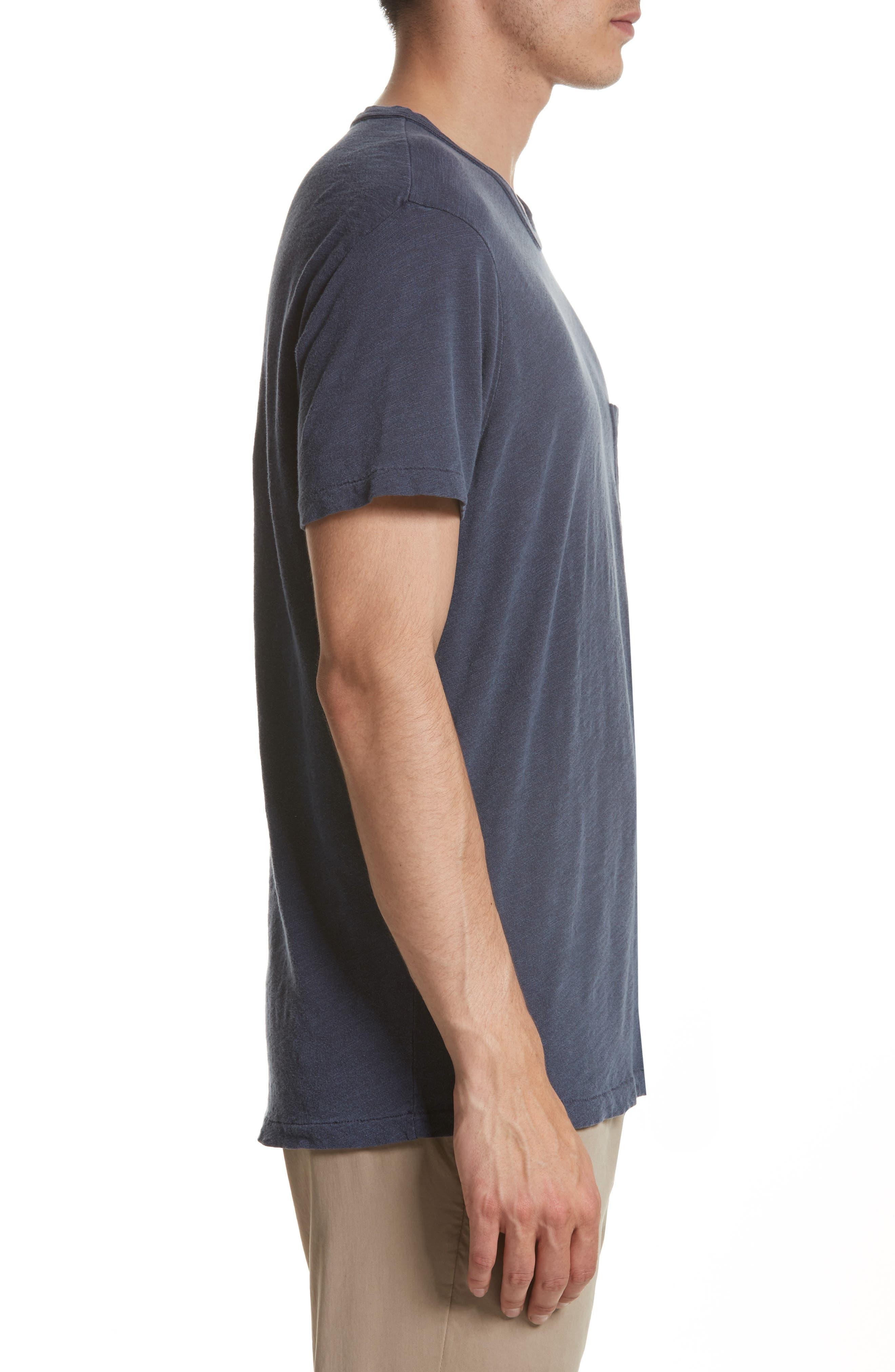 'Classic' Pocket T-Shirt,                             Alternate thumbnail 10, color,