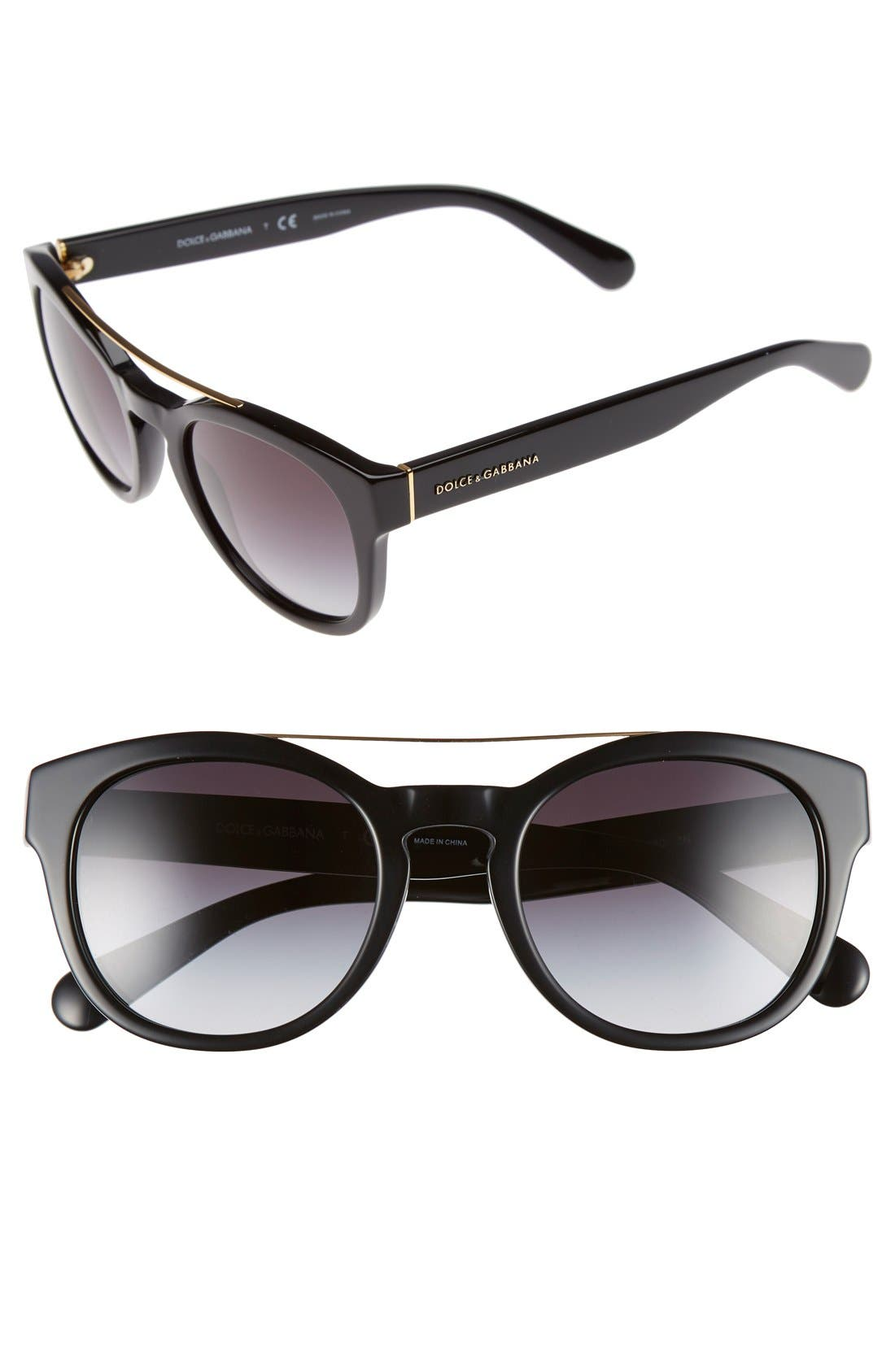 50mm Sunglasses,                         Main,                         color, 001