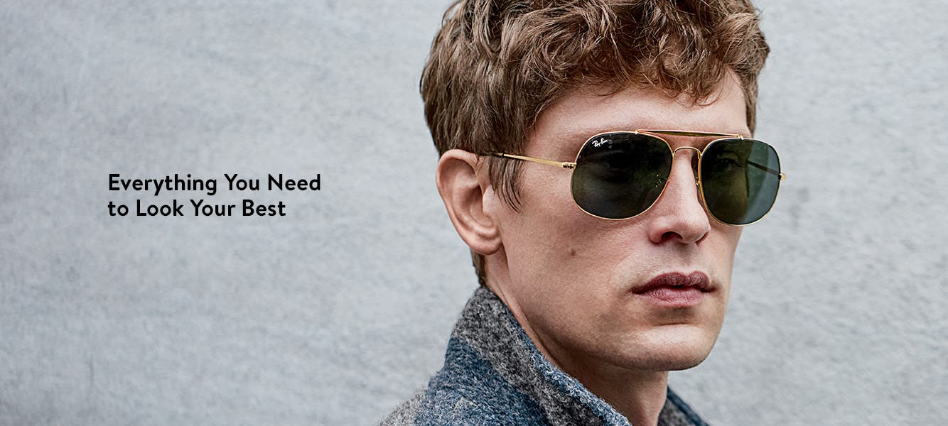 Everything you need to look your best. Clothes, shoes and accessories for men.