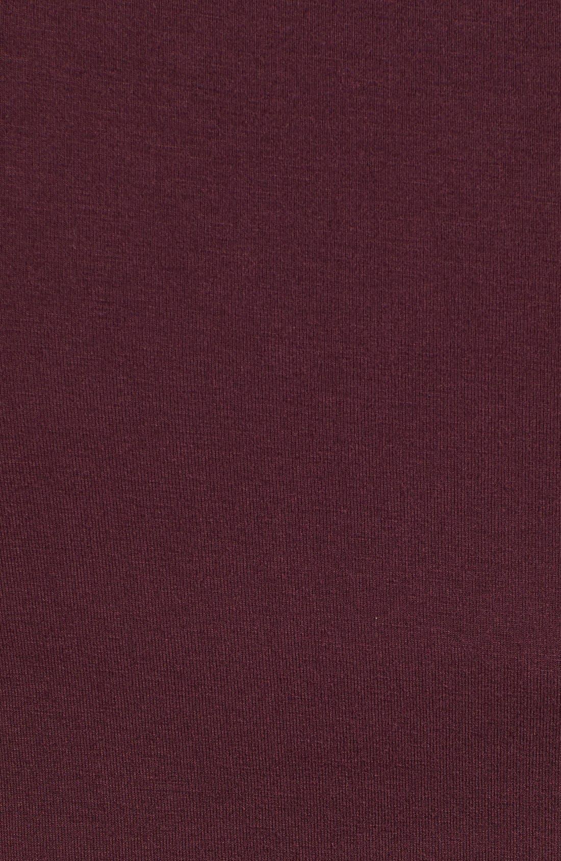 Side Ruched Turtleneck Dress,                             Alternate thumbnail 10, color,