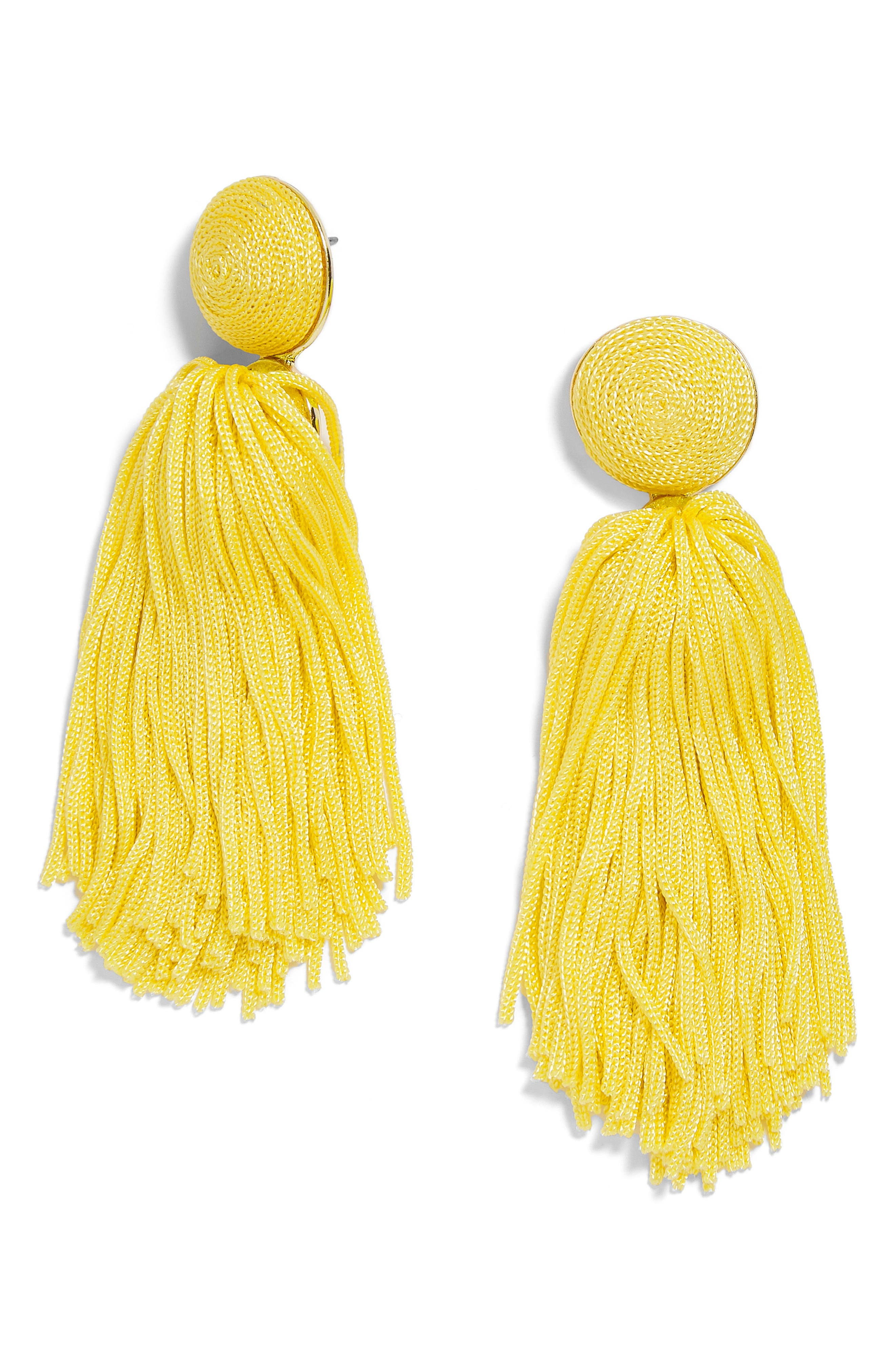Sonatina Tassel Earrings,                             Main thumbnail 8, color,