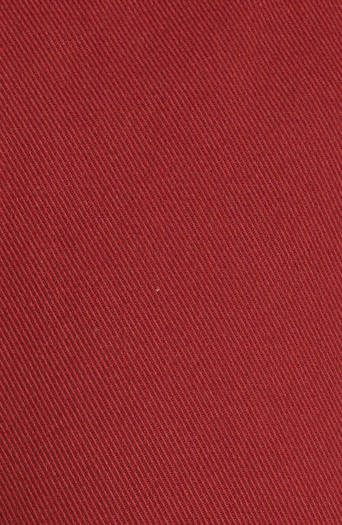 Ruffle Trim Drawstring Trousers,                             Alternate thumbnail 5, color,                             601