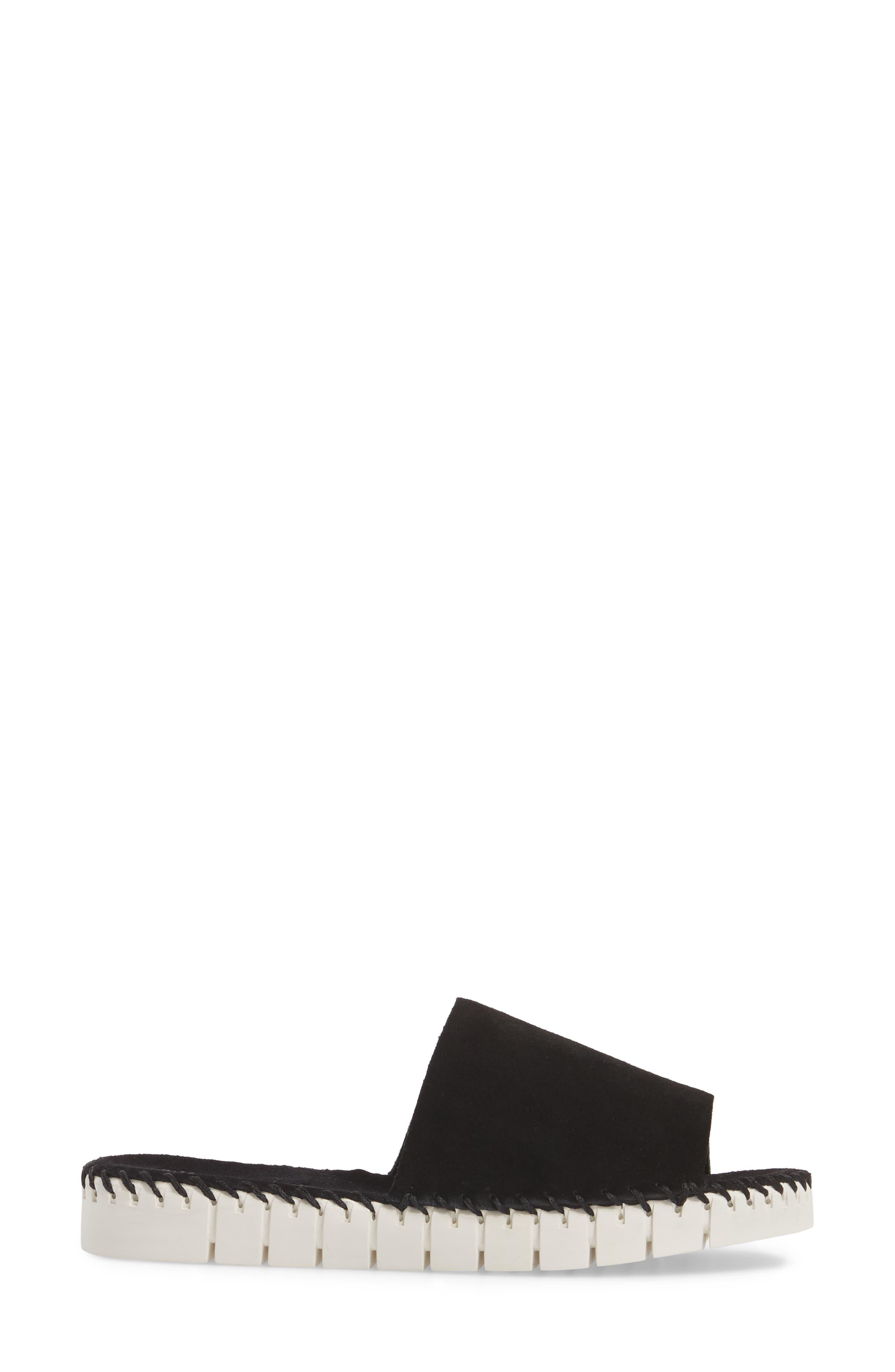 Pave Platform Slide Sandal,                             Alternate thumbnail 7, color,