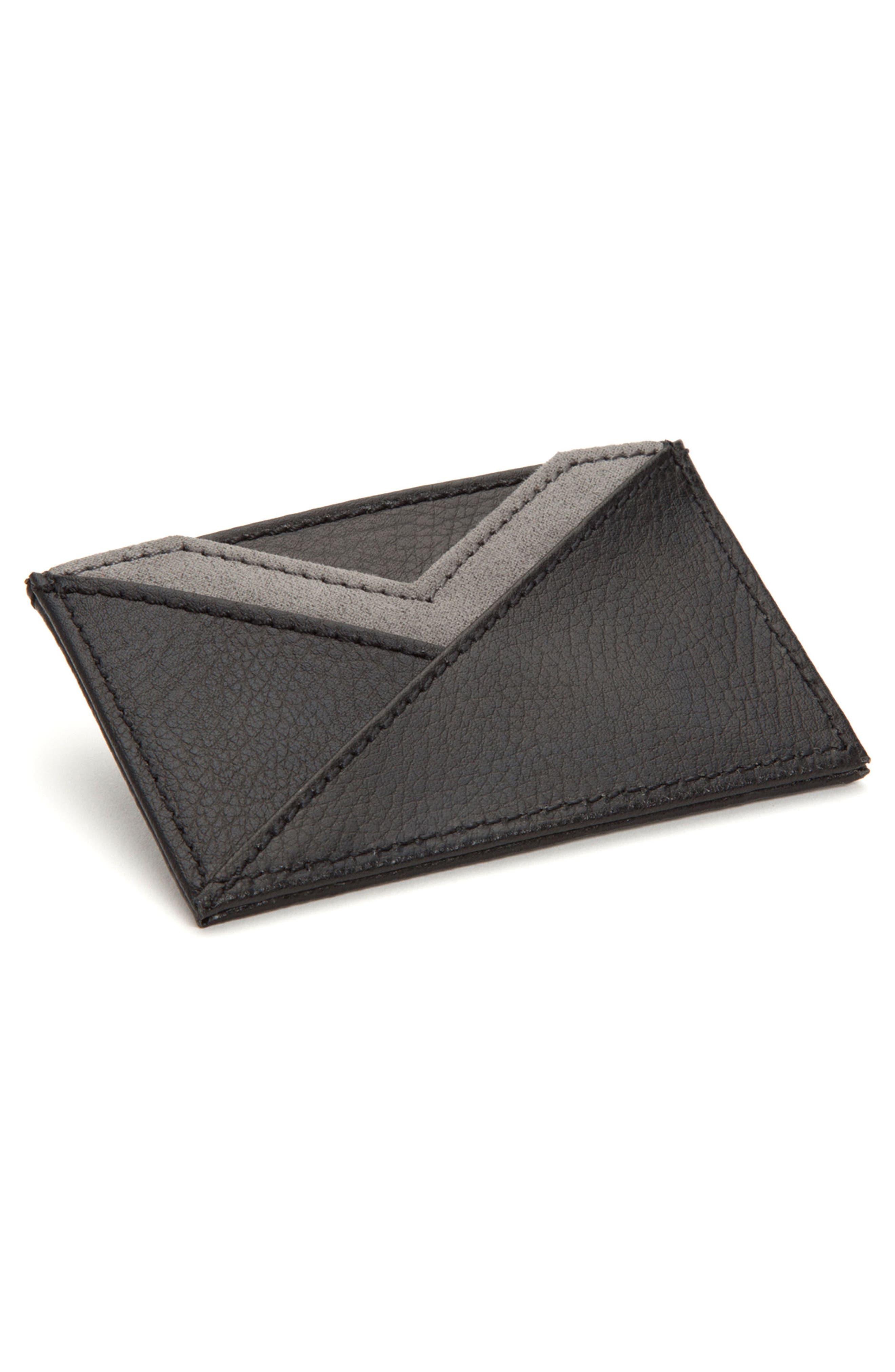 Howard Card Case,                             Alternate thumbnail 2, color,                             BLACK