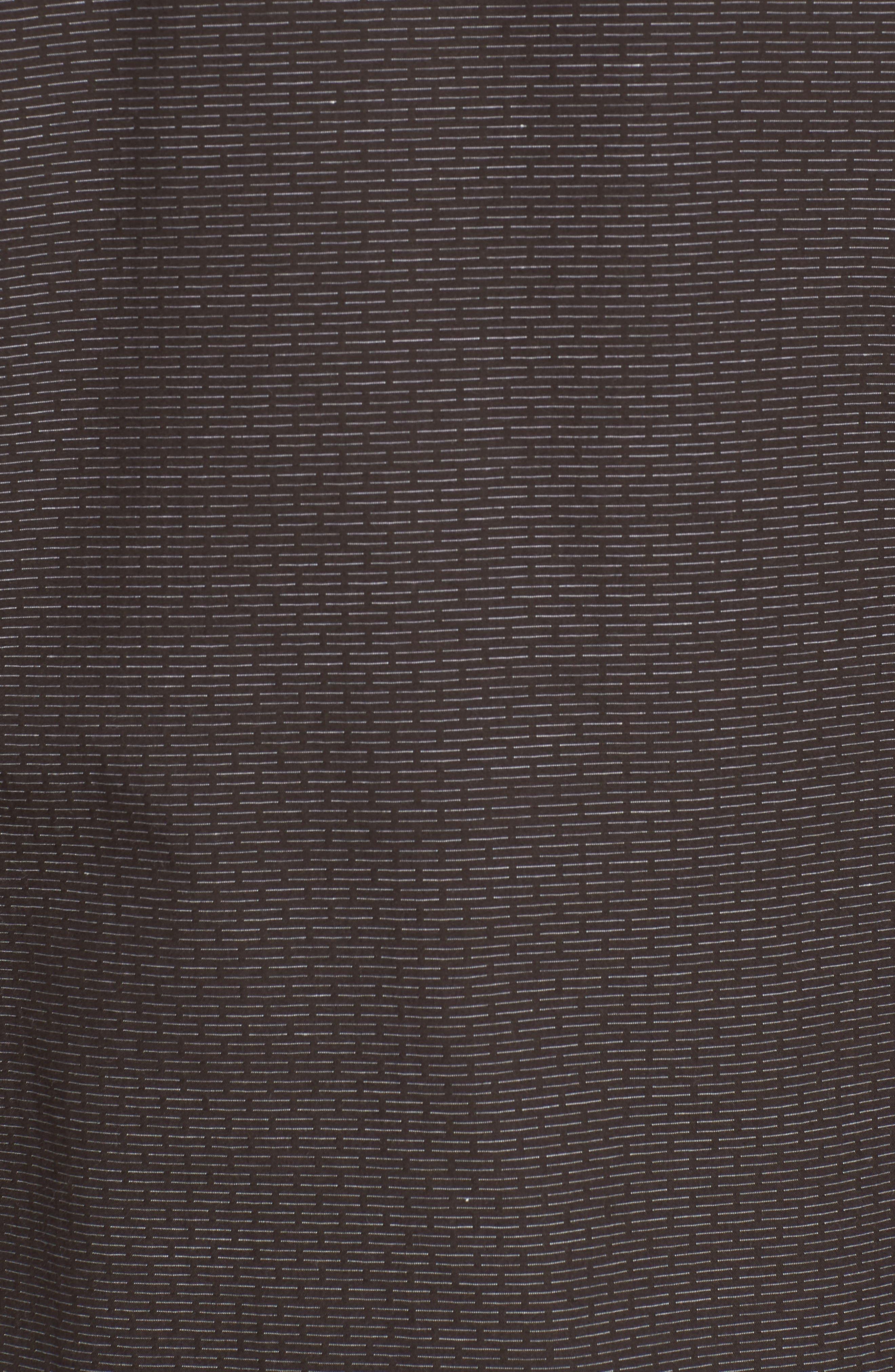 Naked & Famous Dobby Woven Shirt,                             Alternate thumbnail 5, color,                             001