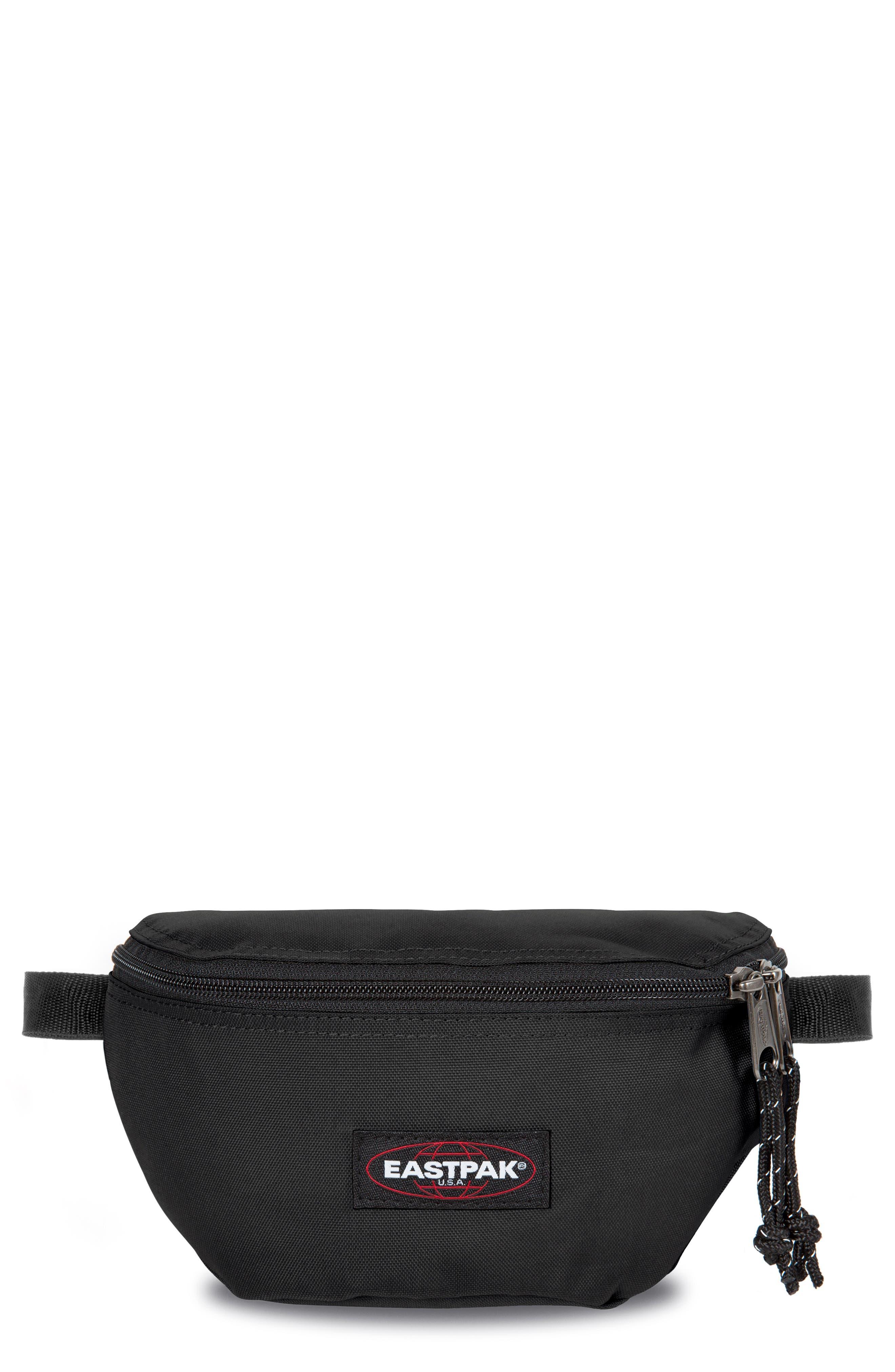 Springer Nylon Belt Bag, Main, color, 001